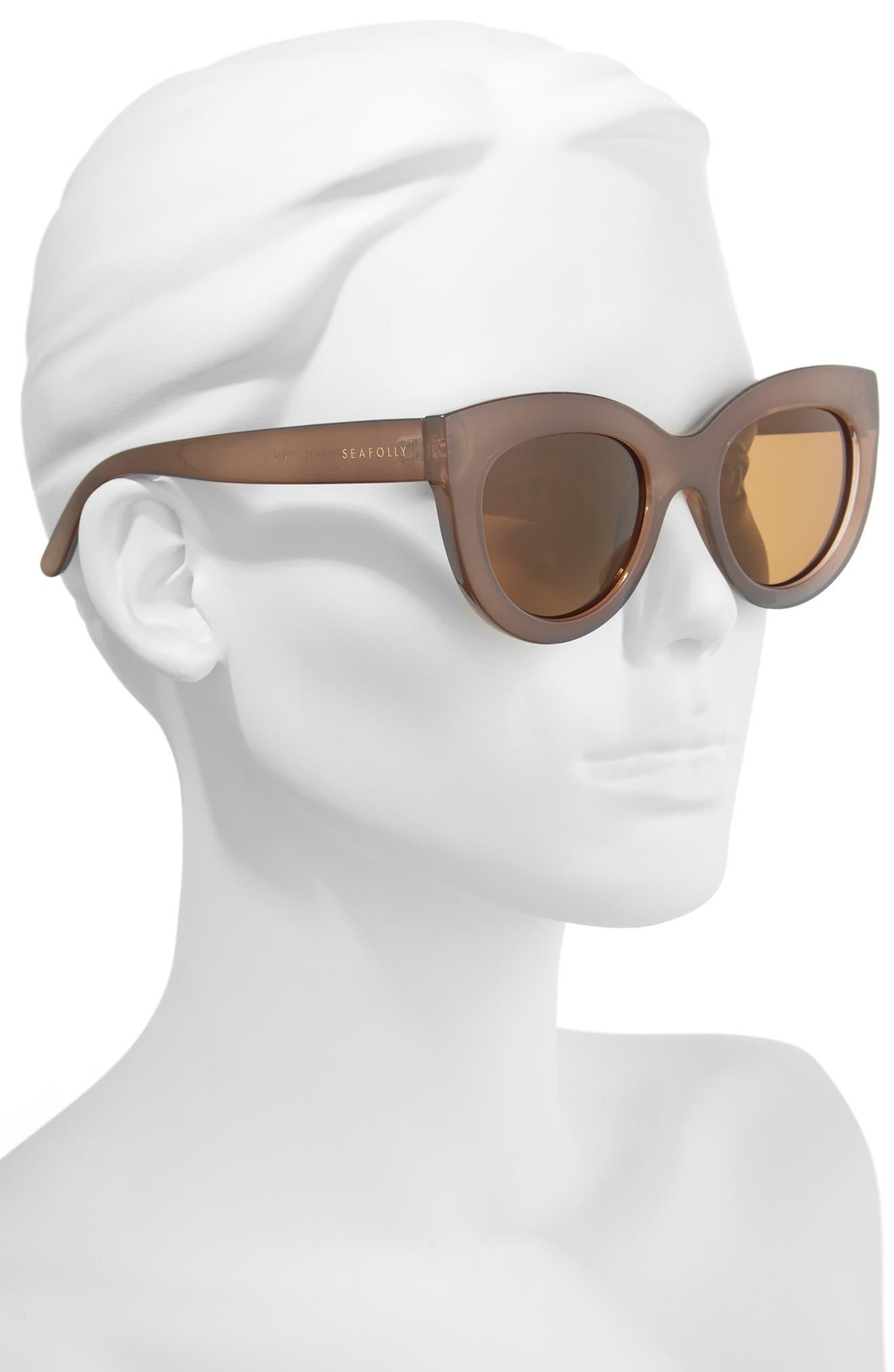 Tortola V2 51mm Polarized Cat Eye Sunglasses,                             Alternate thumbnail 2, color,                             200