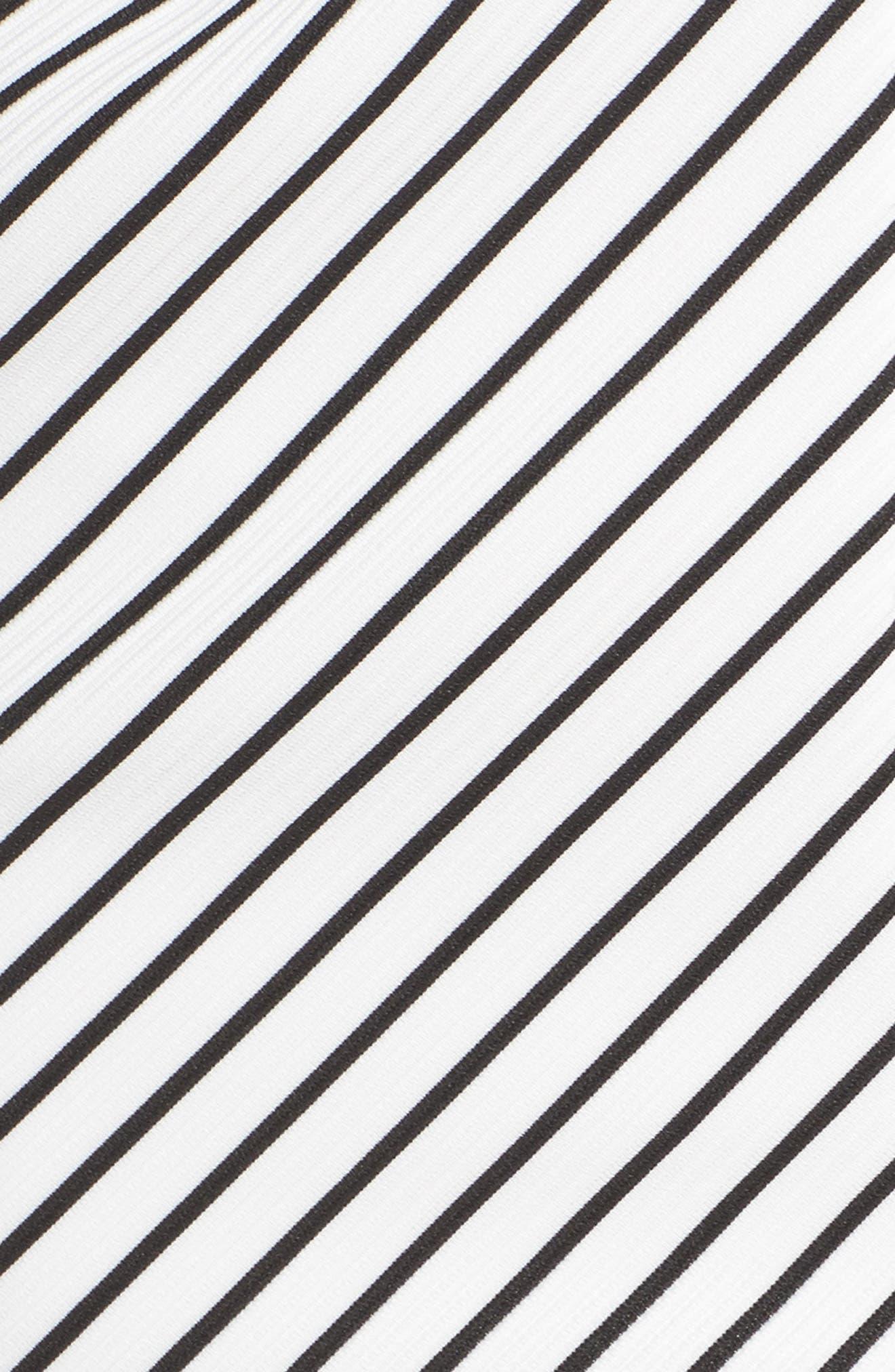 Stripe Ottoman Sheath Dress,                             Alternate thumbnail 5, color,                             901