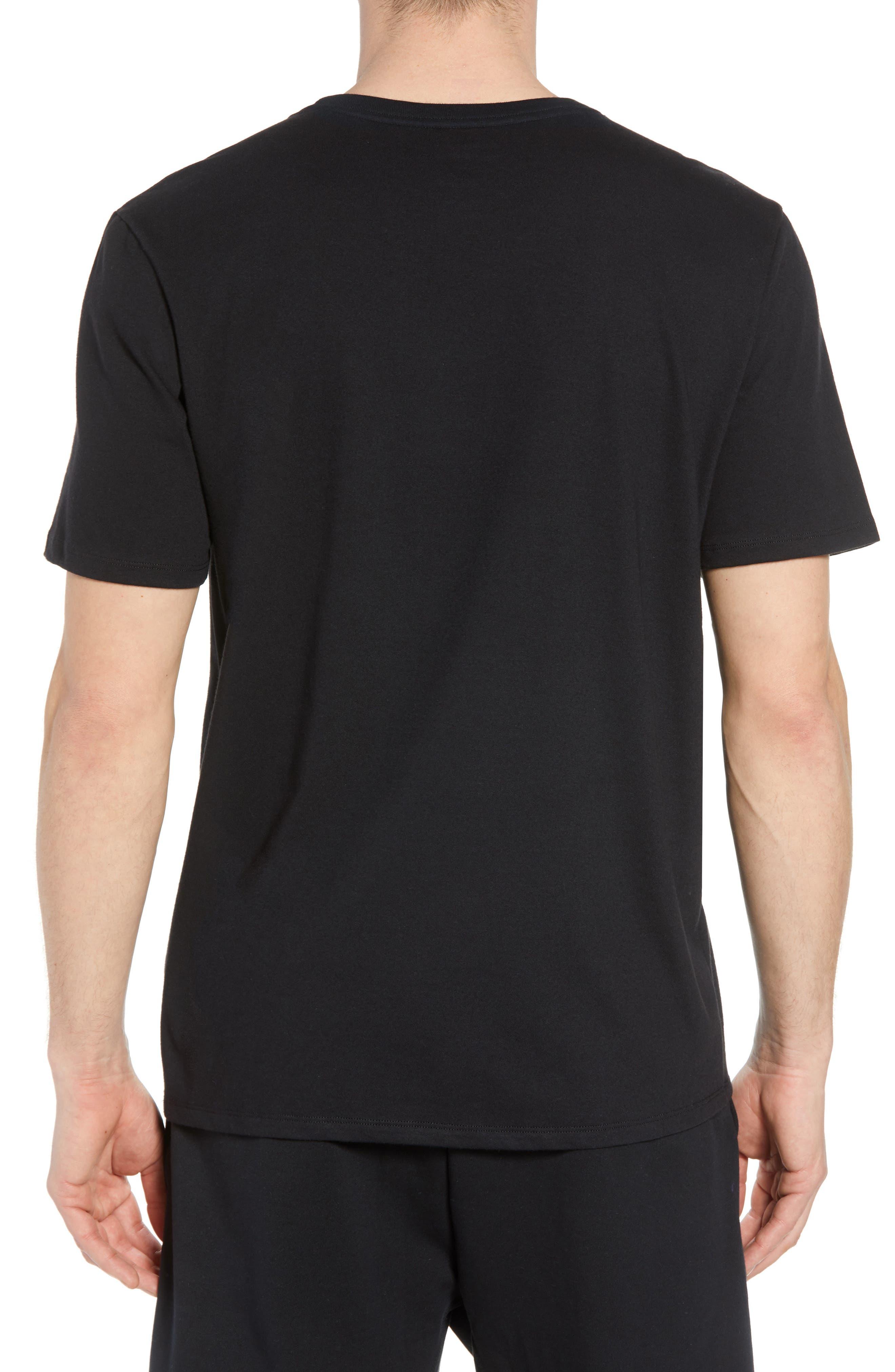 Dry Pointguard Graphic T-Shirt,                             Alternate thumbnail 2, color,                             BLACK/ BLACK