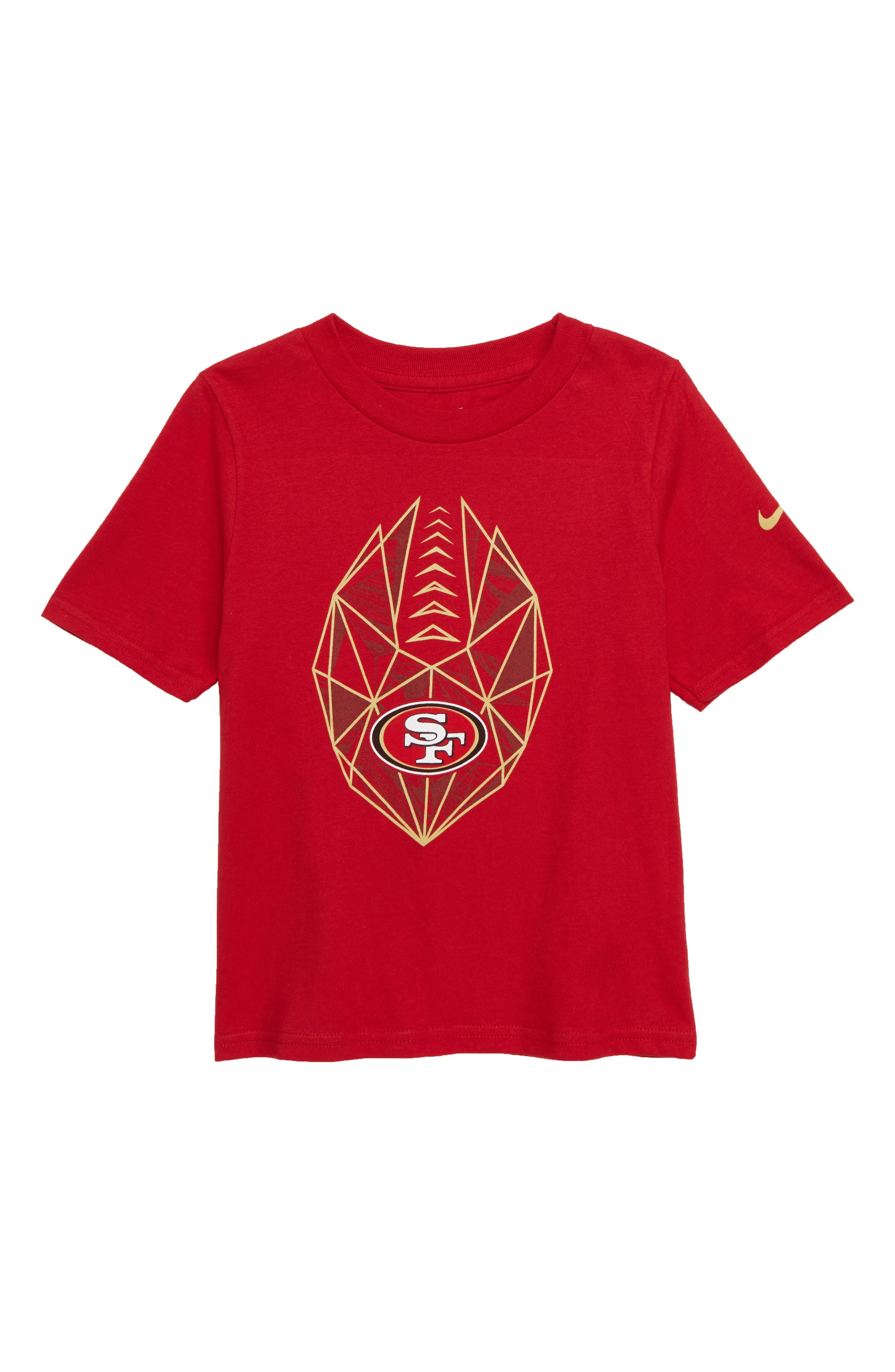 NFL San Francisco 49ers Legend T-Shirt,                             Main thumbnail 1, color,                             RED