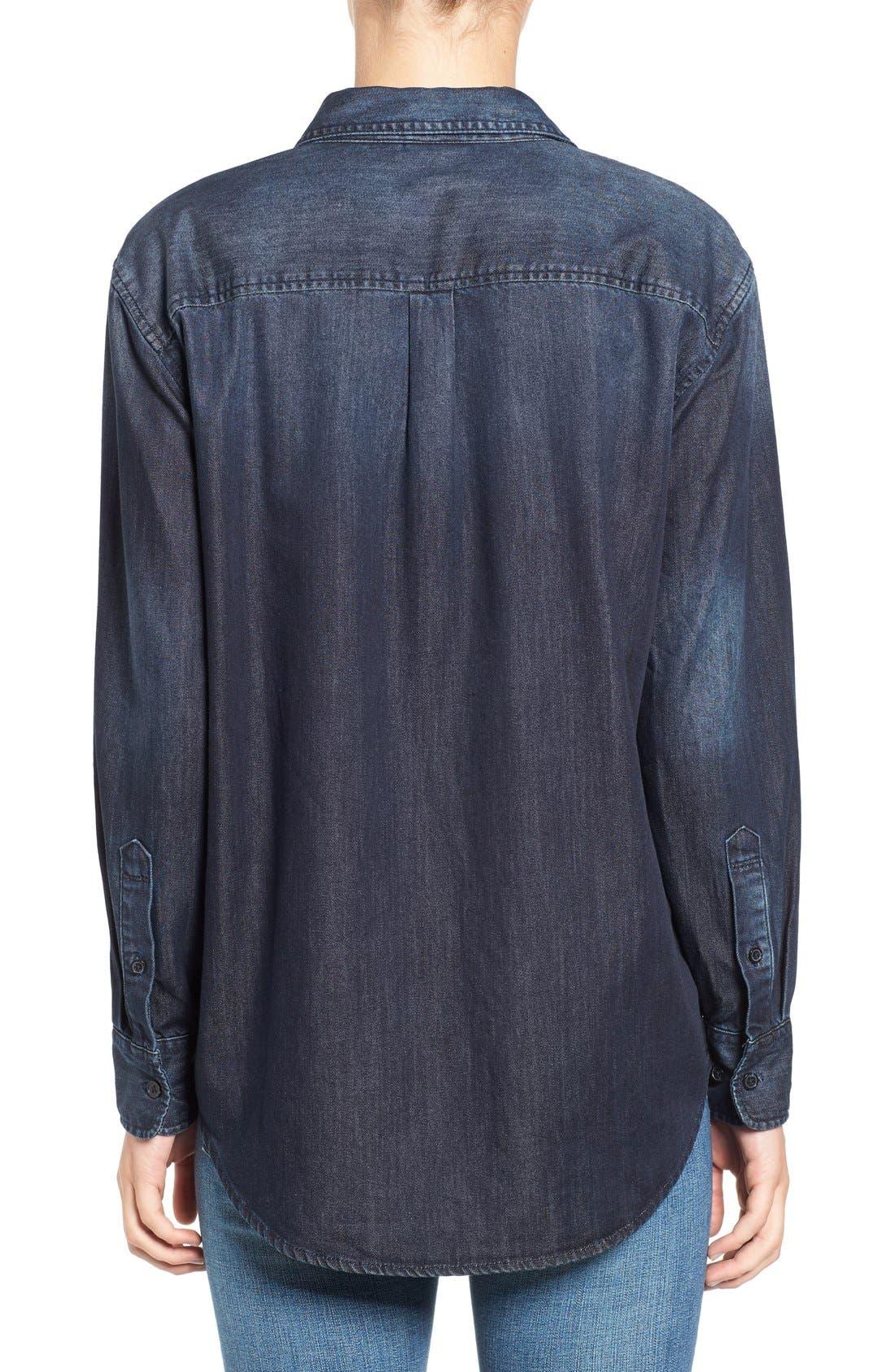 Hartley Chambray Shirt,                             Alternate thumbnail 2, color,                             458