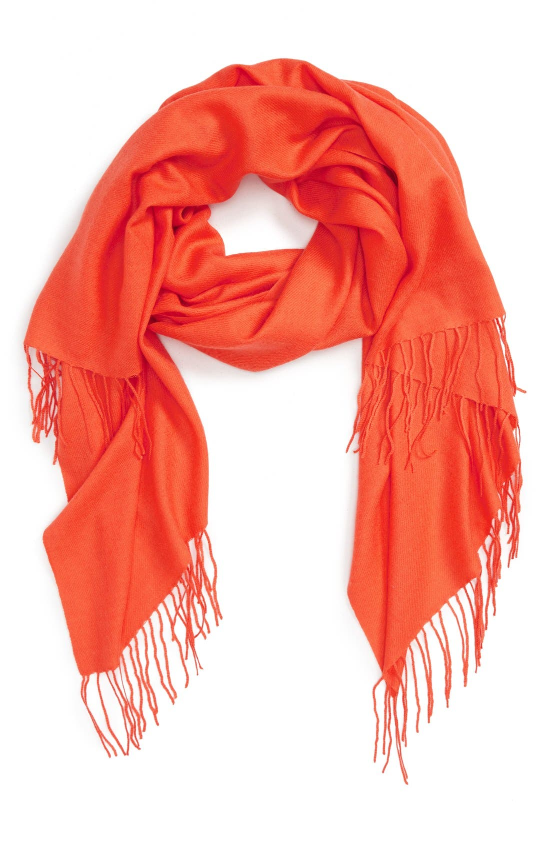 Tissue Weight Wool & Cashmere Scarf,                             Main thumbnail 56, color,