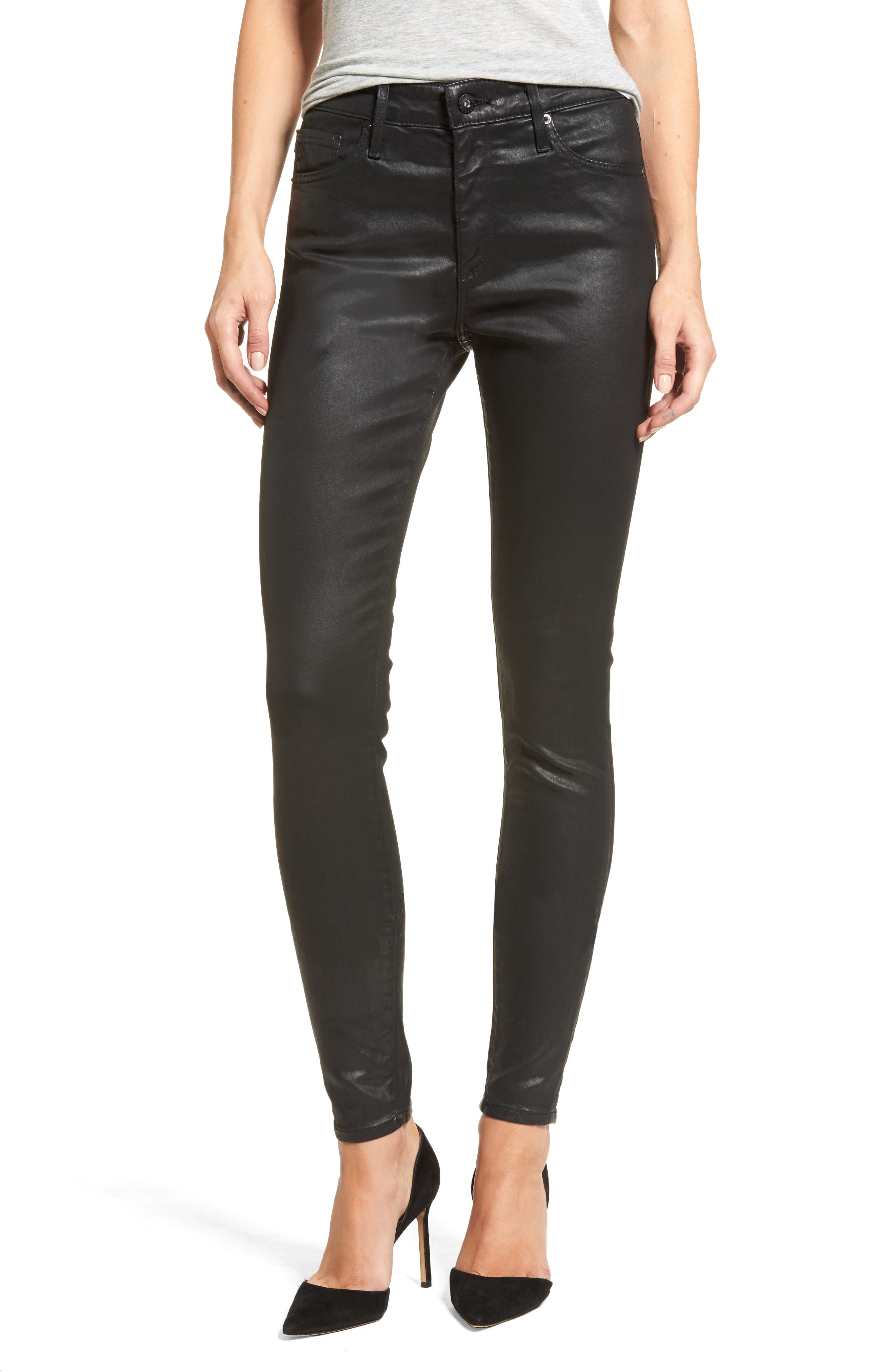 The Farrah High Rise Skinny Jeans,                             Main thumbnail 1, color,