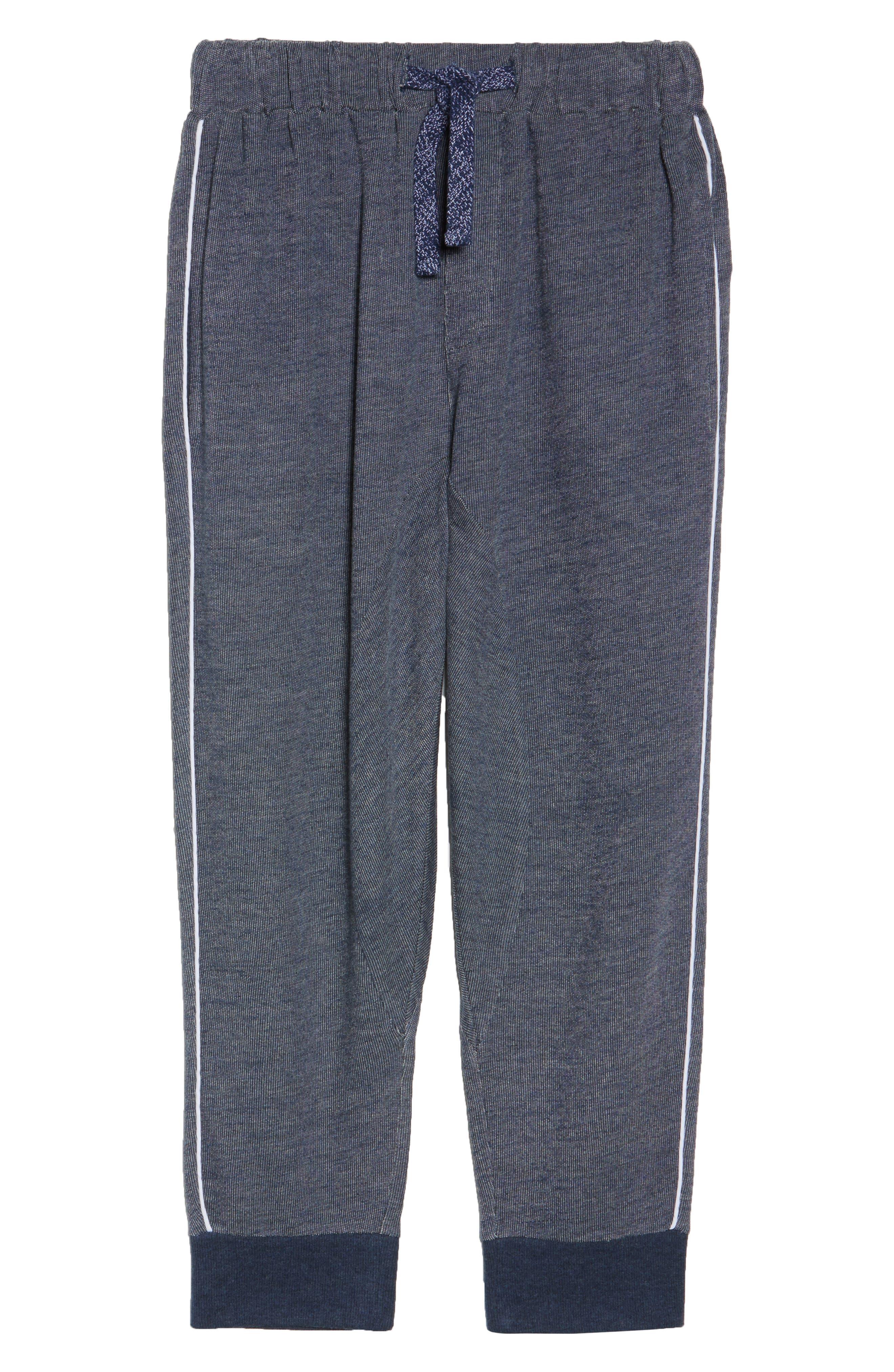 Steff Crop Lounge Pants,                             Alternate thumbnail 6, color,                             402