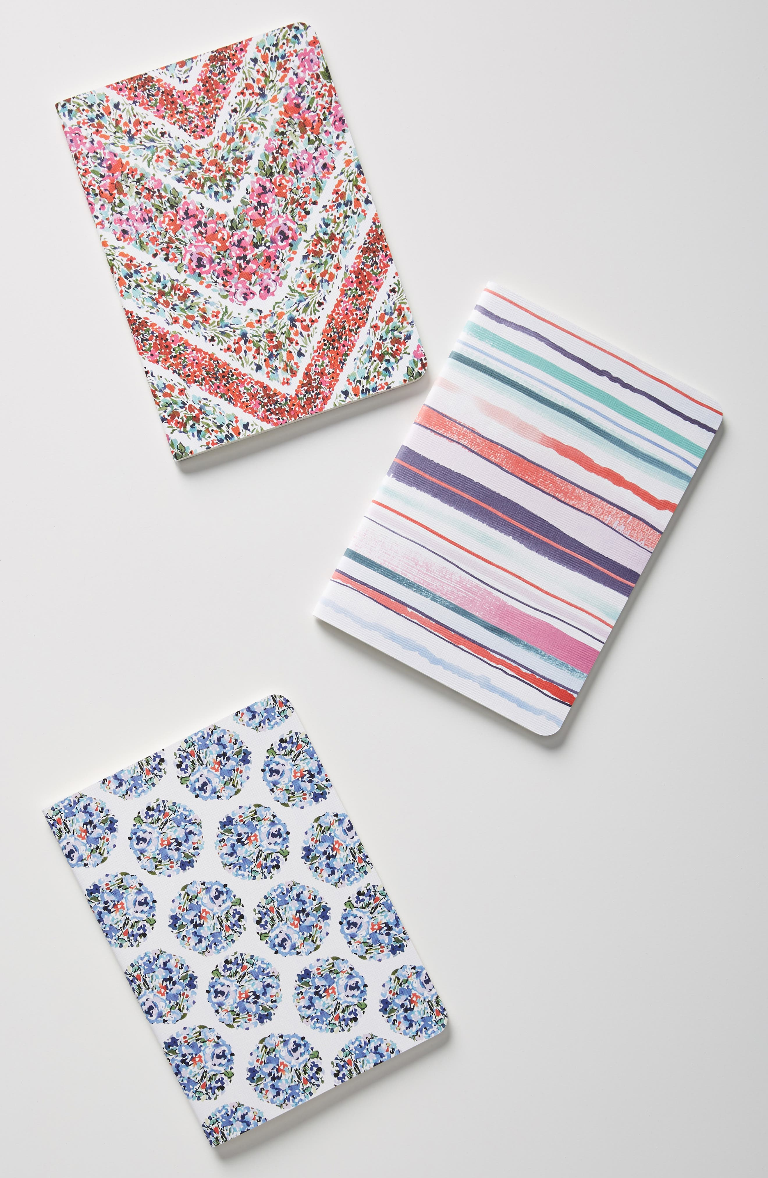 Pippa Set of 3 Journals, Main, color, MULTI