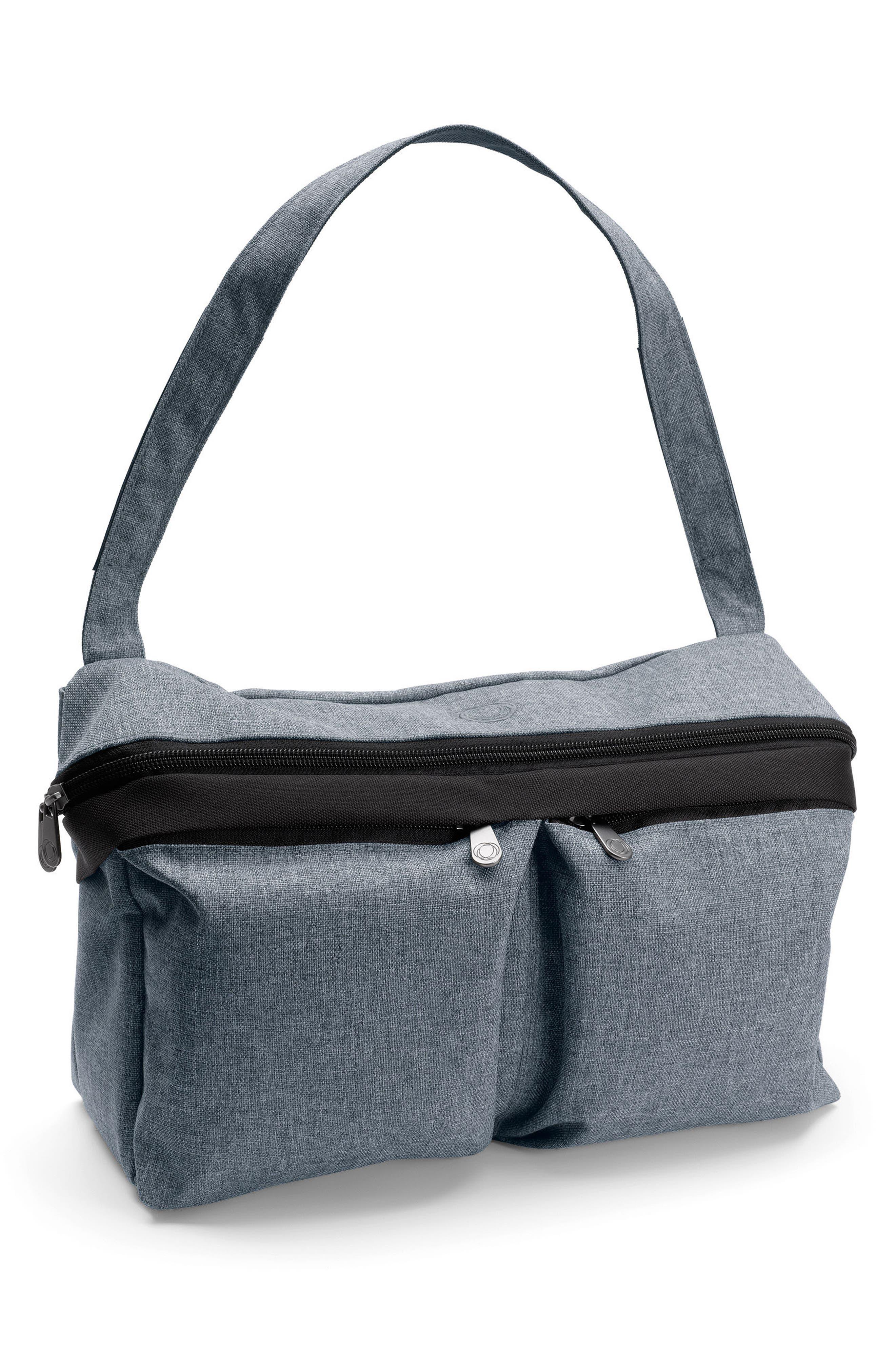 Stroller Organizer Bag,                         Main,                         color, BLUE MELANGE