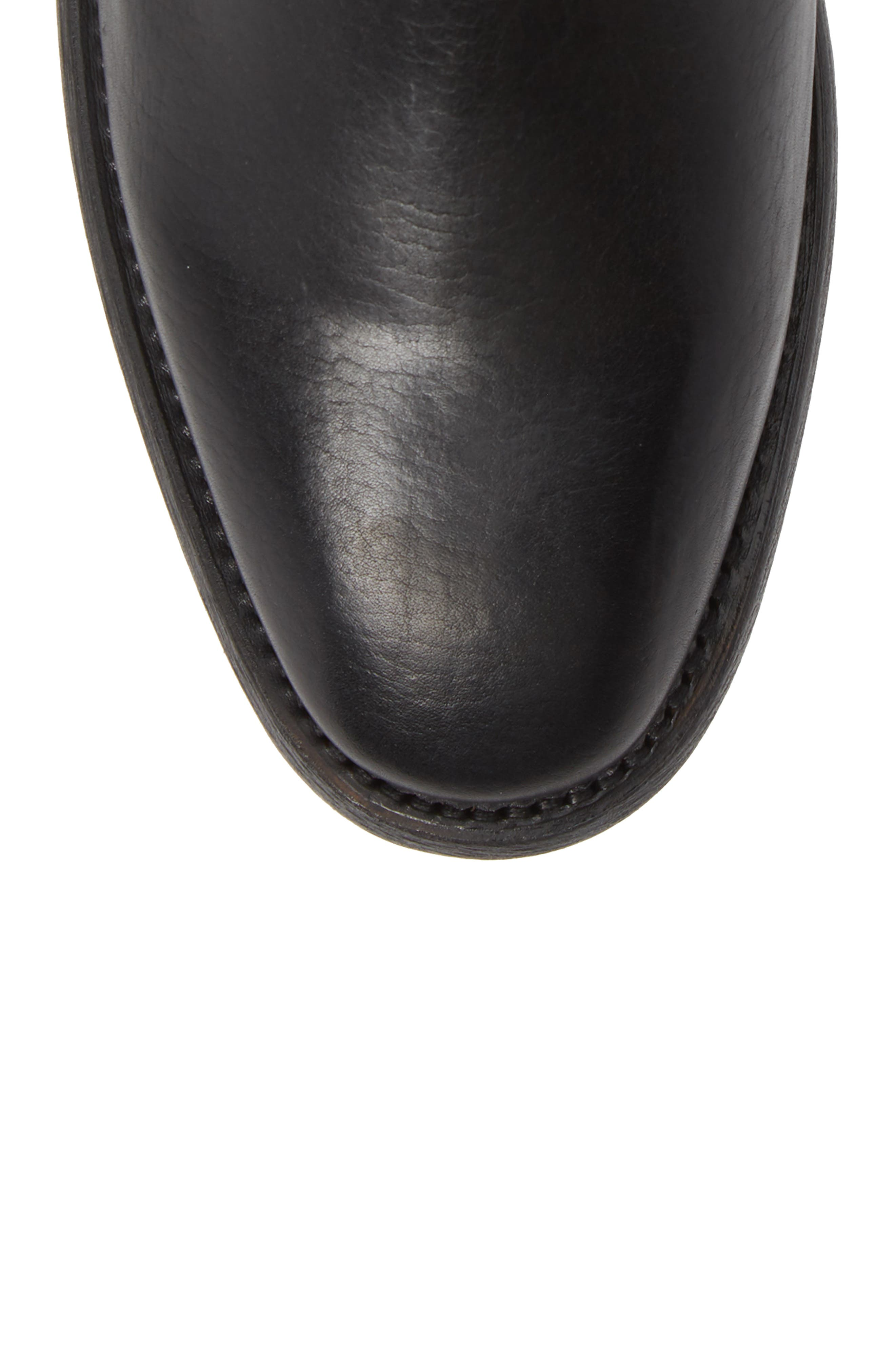 Chelsea Boot,                             Alternate thumbnail 5, color,                             BLACK