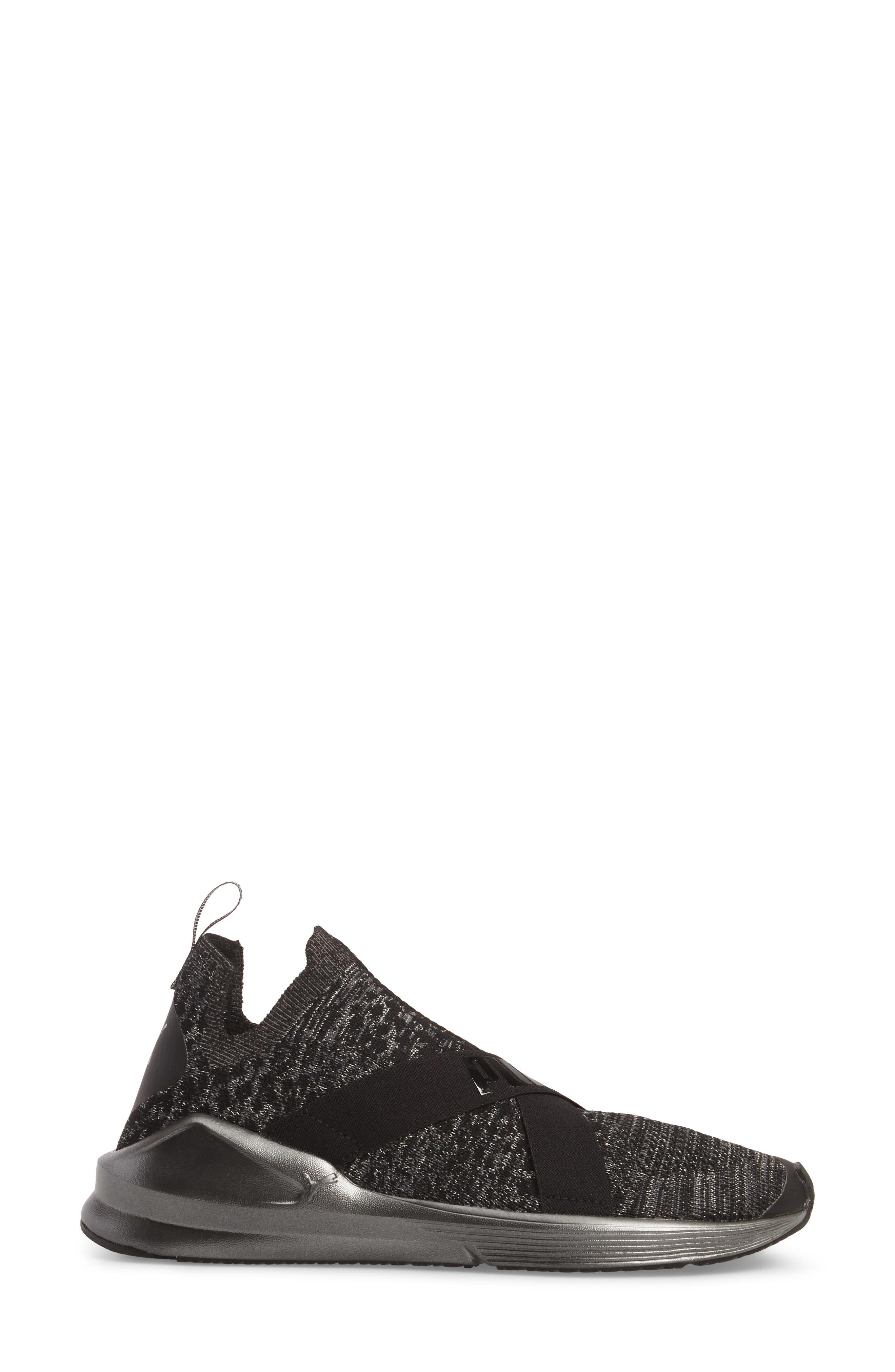 Fierce evoKnit Training Sneaker,                             Alternate thumbnail 3, color,                             003