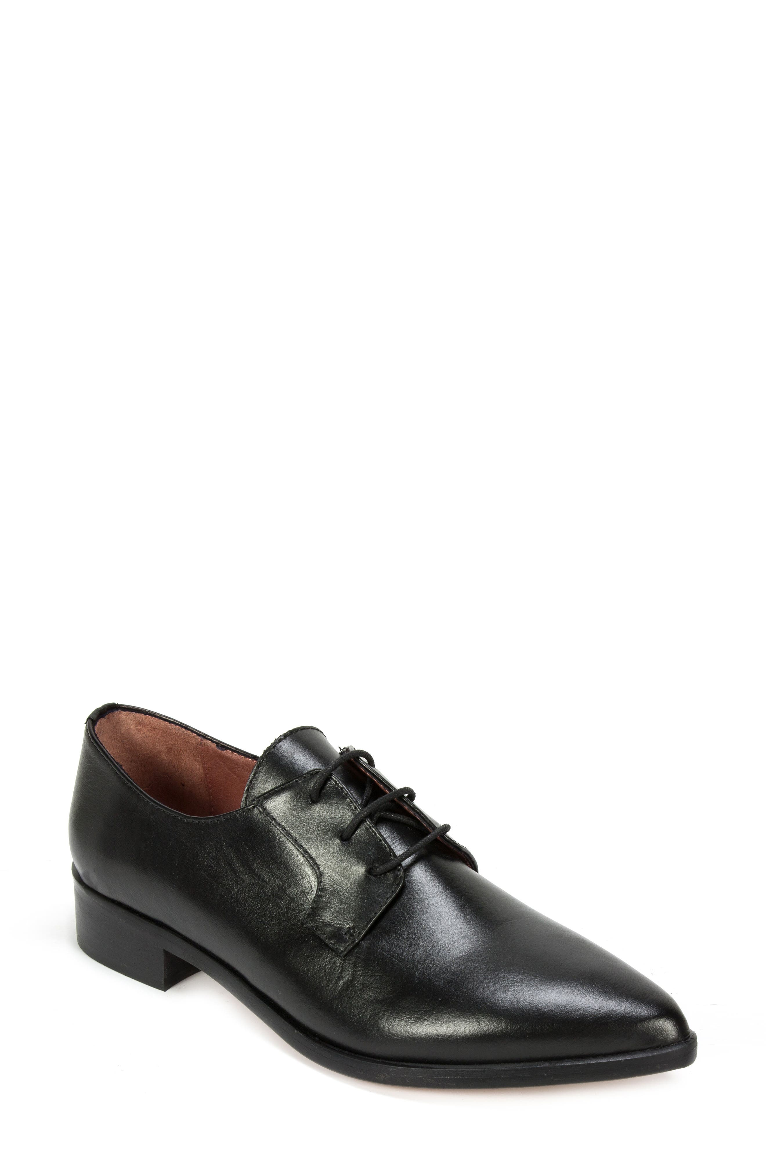 Summit Adrina Pointy Toe Oxford,                         Main,                         color, 001