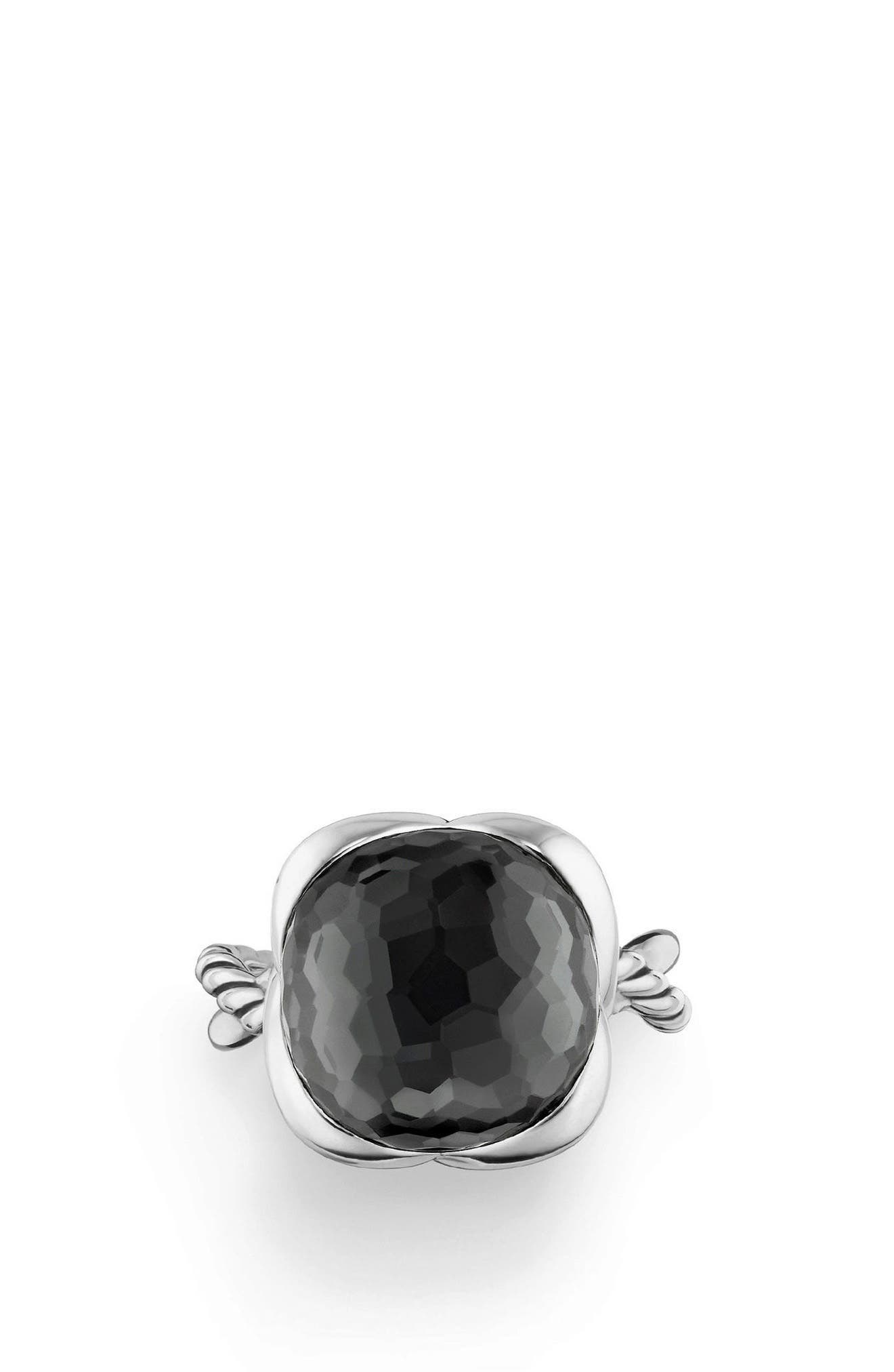 Continuance Ring,                             Alternate thumbnail 4, color,                             HEMATITE/ CRYSTAL