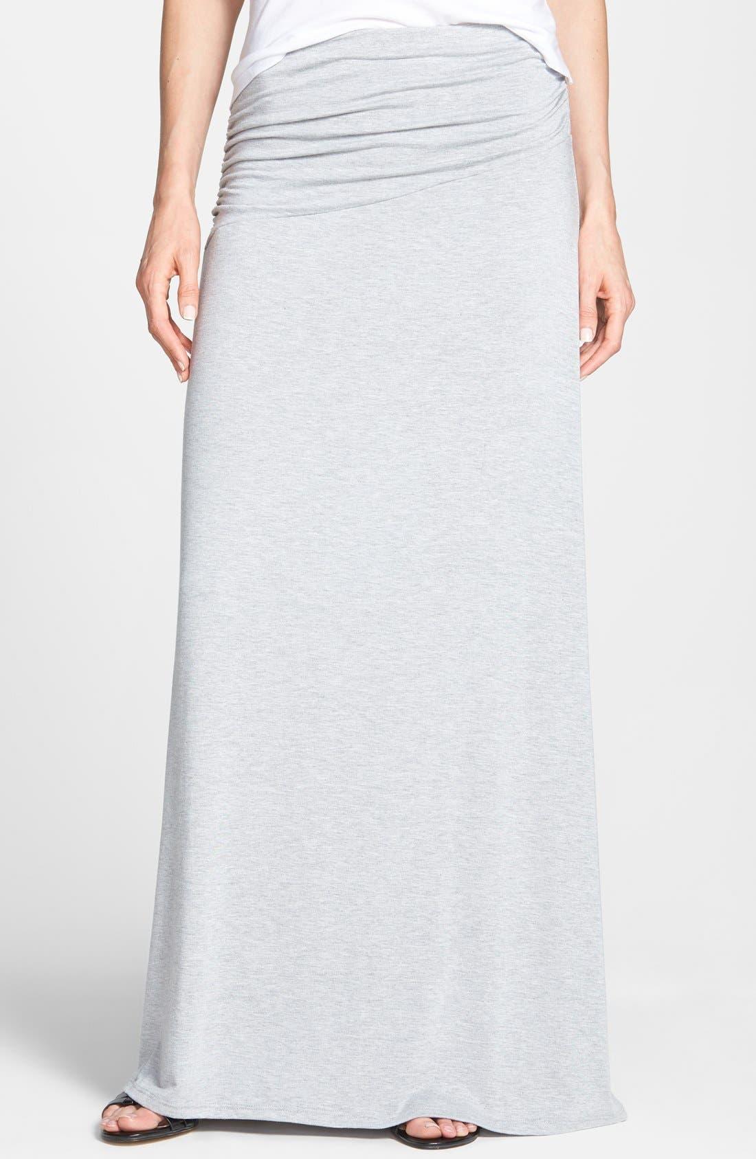 Asymmetric Knit Maxi Skirt,                             Main thumbnail 3, color,