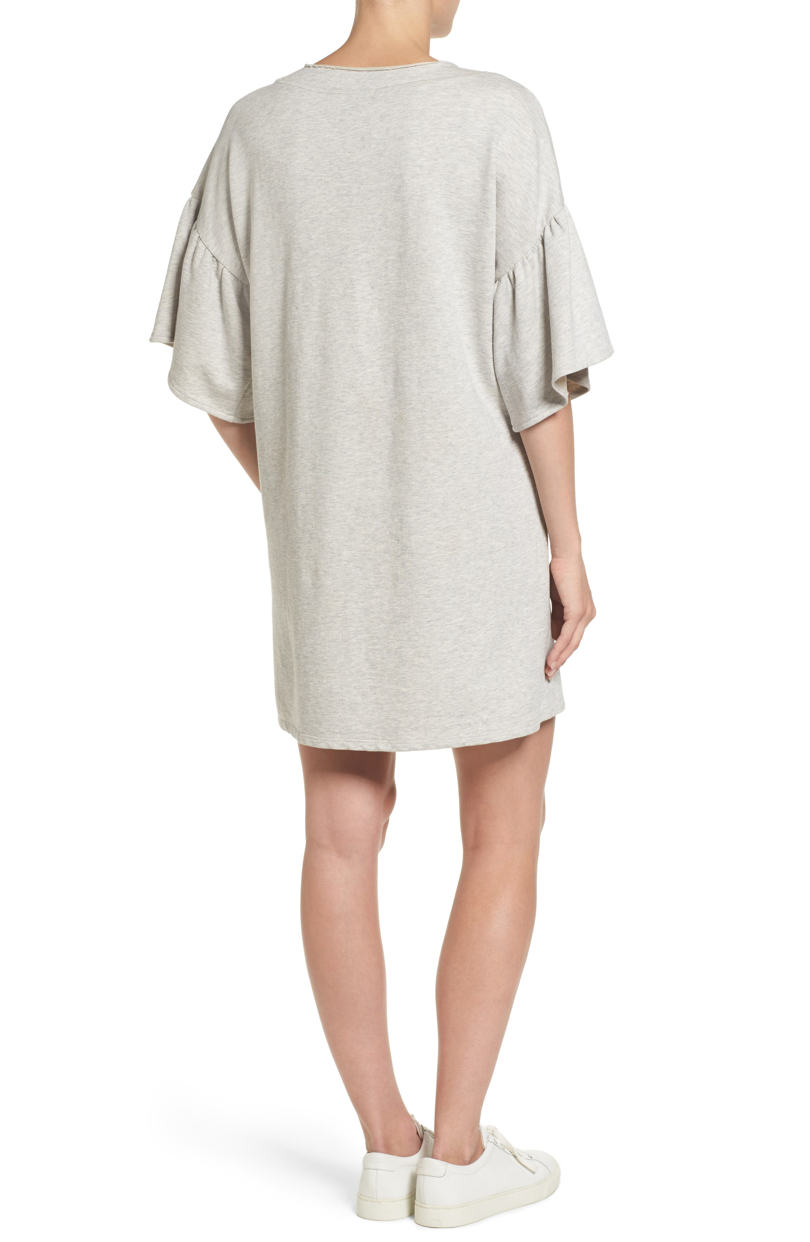 Mariska Fleece Knit Dress,                             Alternate thumbnail 2, color,                             050
