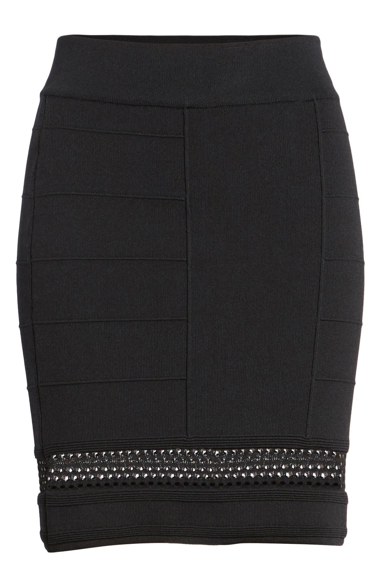 Bishop + Young Siena Peekaboo Skirt,                             Alternate thumbnail 6, color,