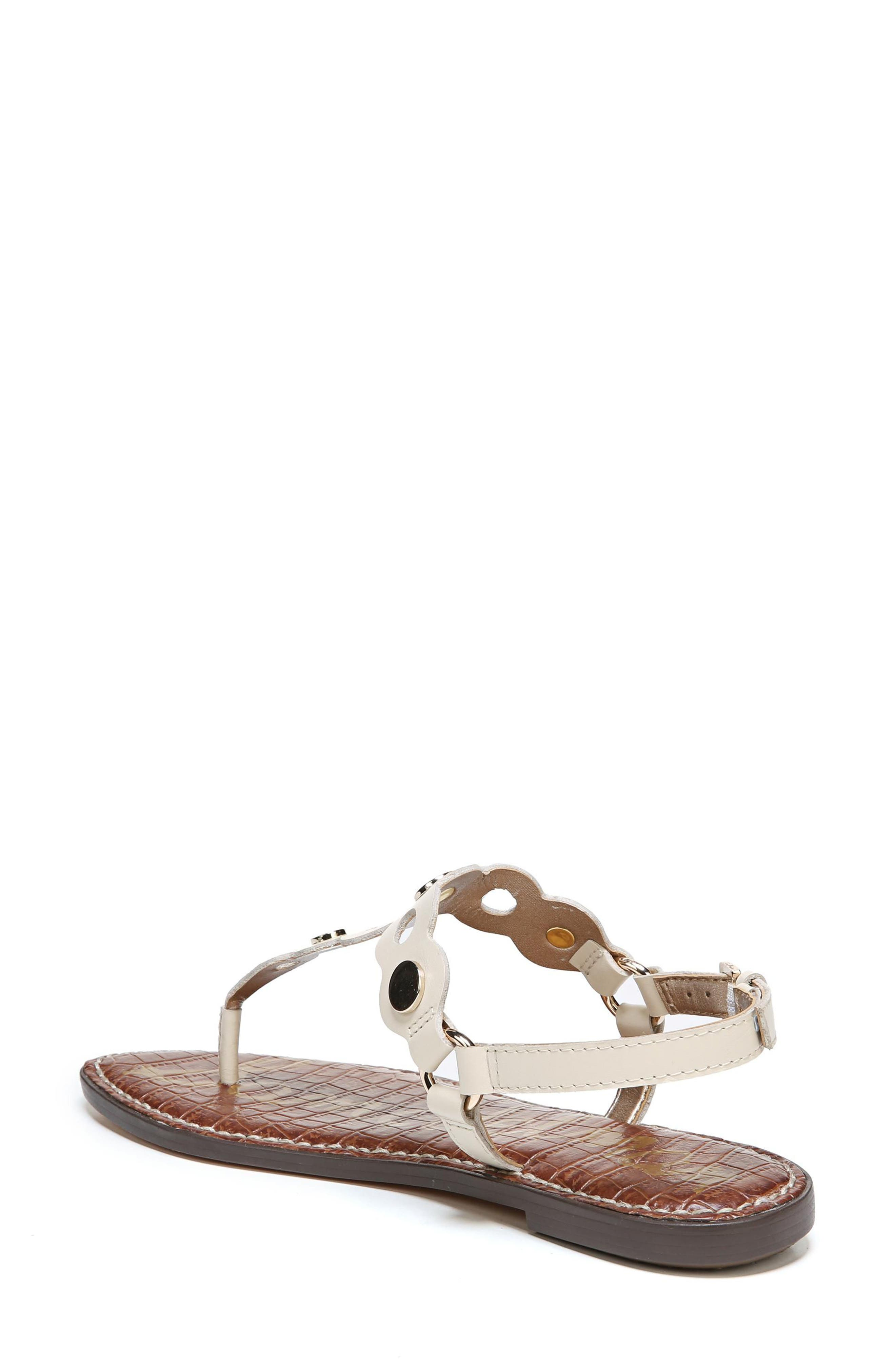 Gilly T-Strap Sandal,                             Alternate thumbnail 7, color,