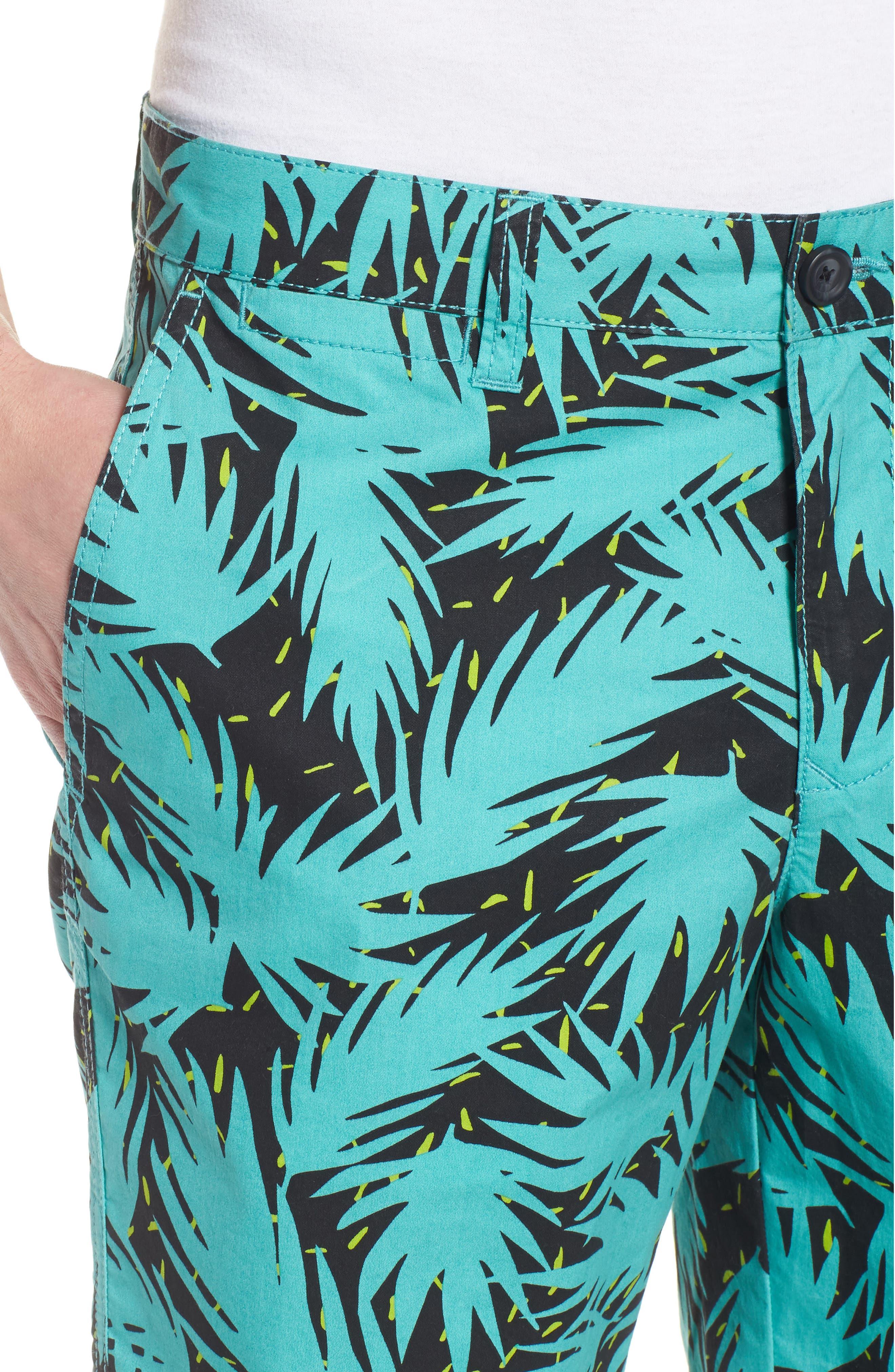 Neo Tropical Shorts,                             Alternate thumbnail 4, color,                             440
