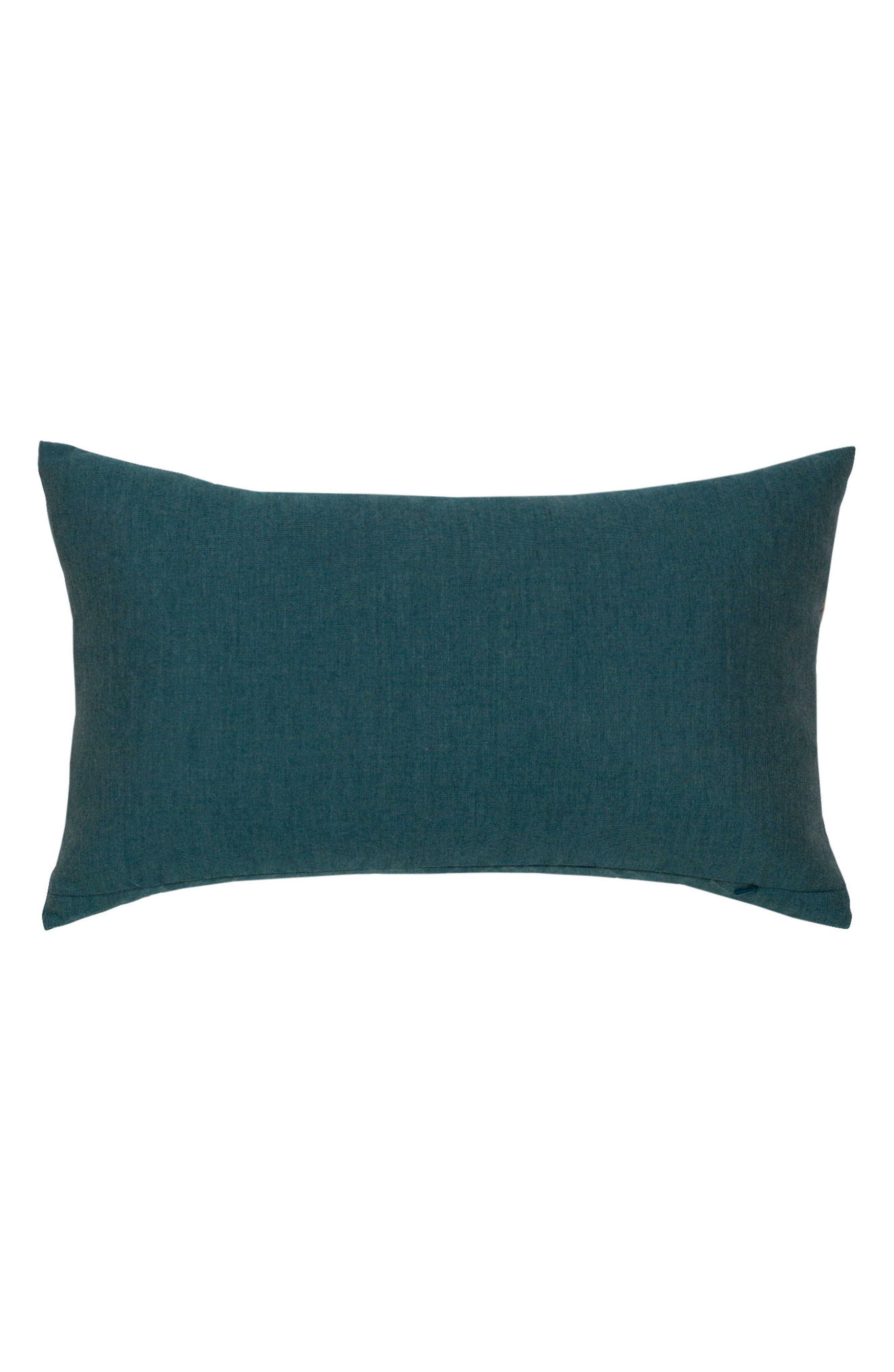 Lagoon Rope Lumbar Pillow,                             Alternate thumbnail 2, color,                             BLUE