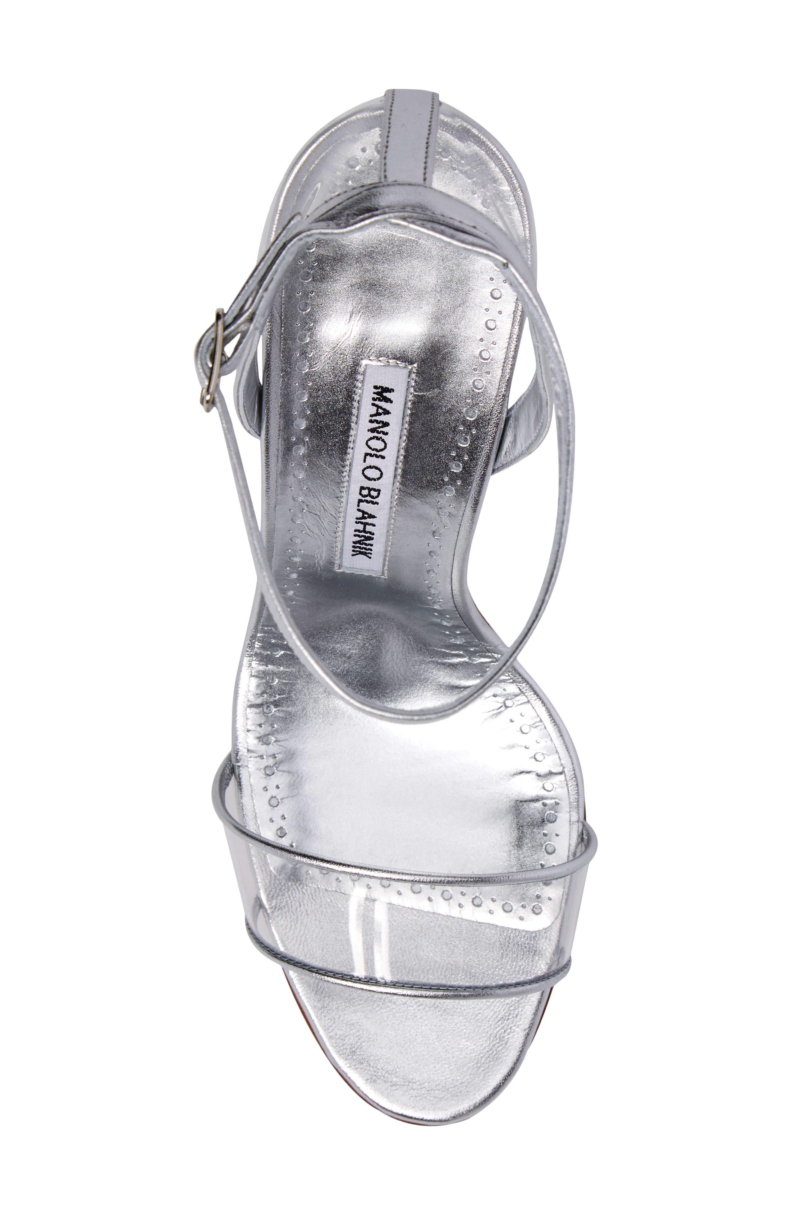 Dandolo See-Through Strappy Sandal,                             Alternate thumbnail 5, color,                             040