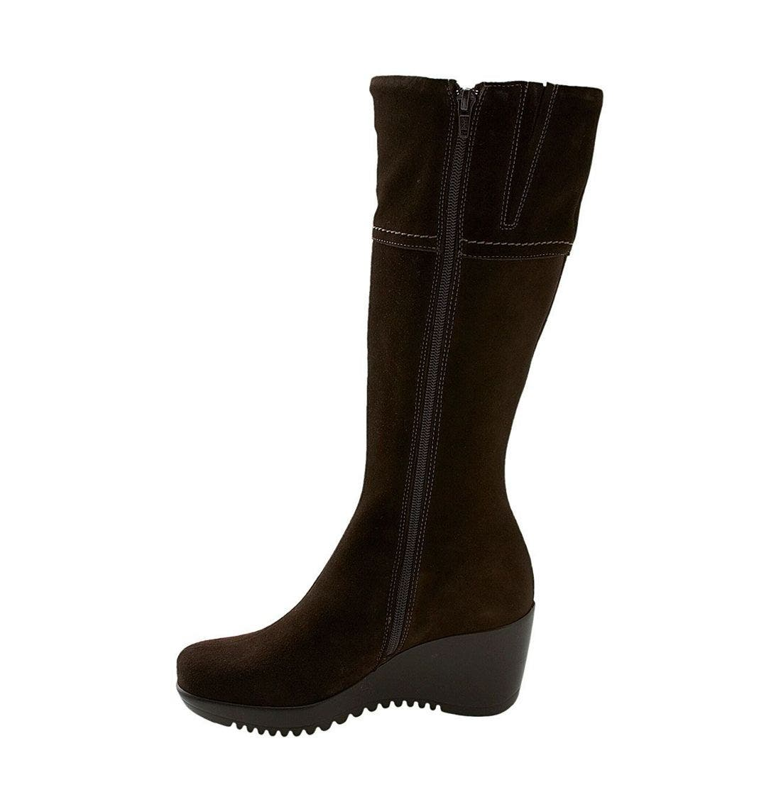 'Galaxy' Waterproof Boot,                             Alternate thumbnail 4, color,                             BRS