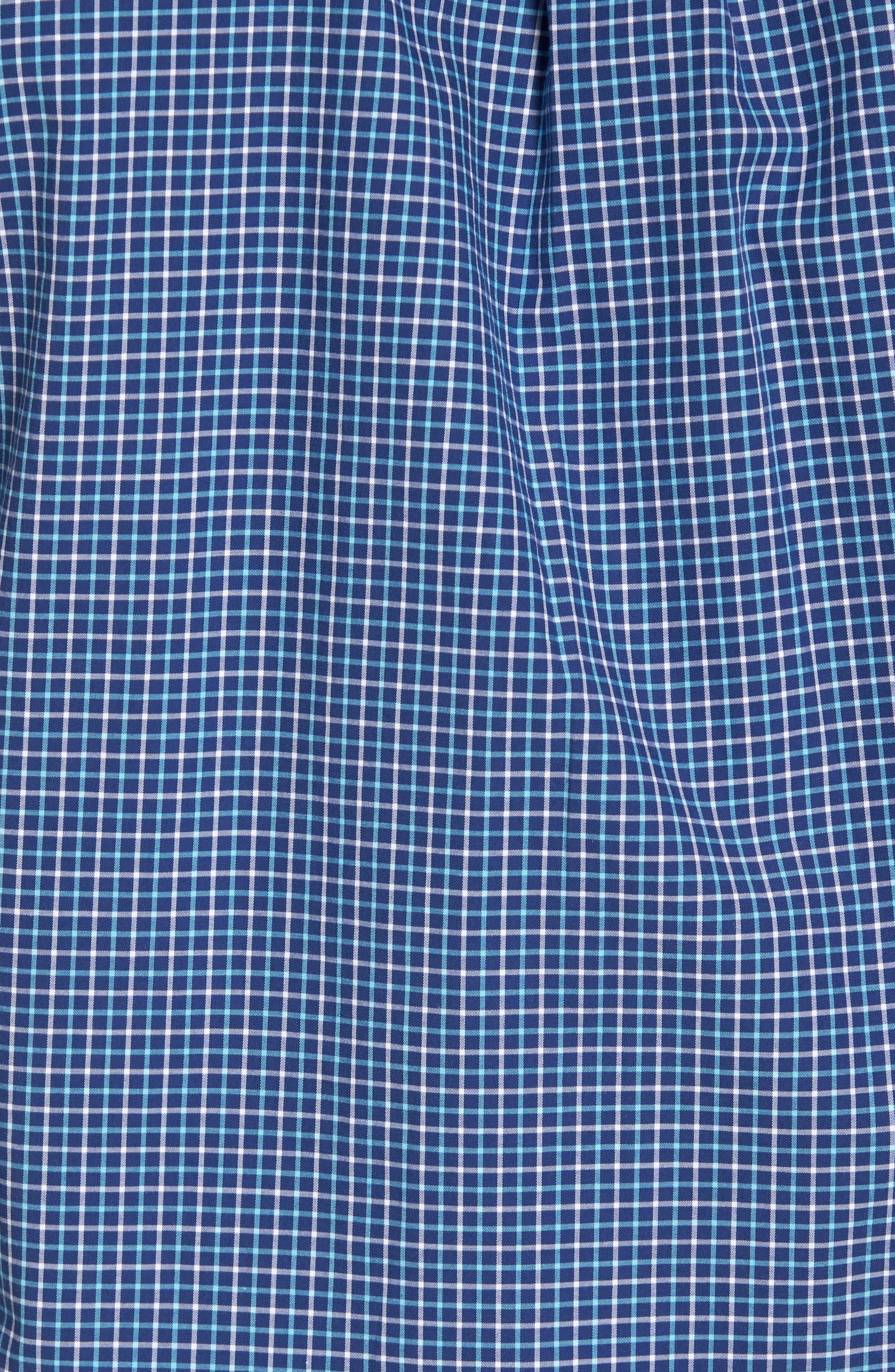 Crown Finish Marsh Regular Fit Check Sport Shirt,                             Alternate thumbnail 5, color,                             437
