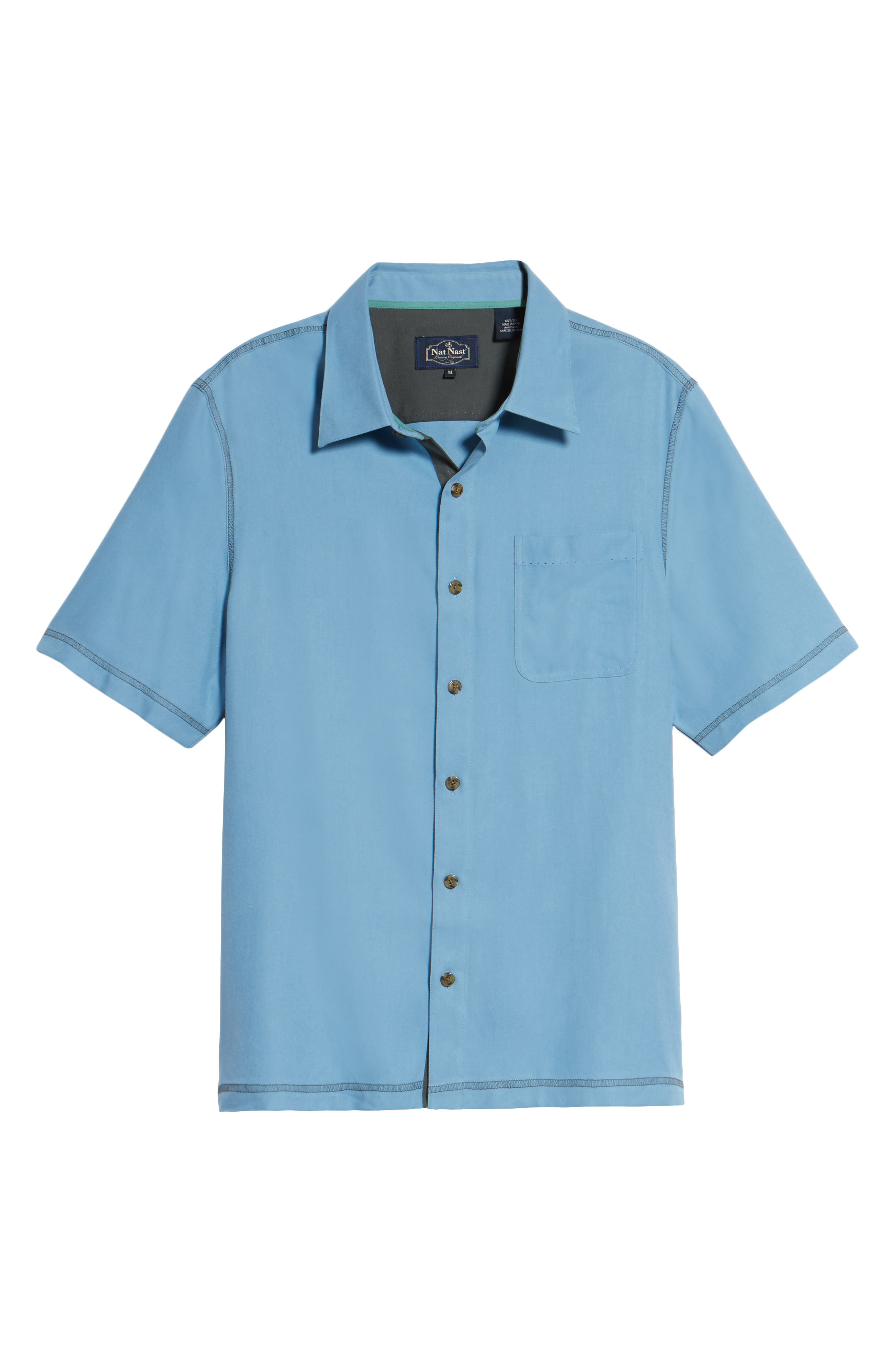 New Originals Silk Sport Shirt,                             Alternate thumbnail 18, color,