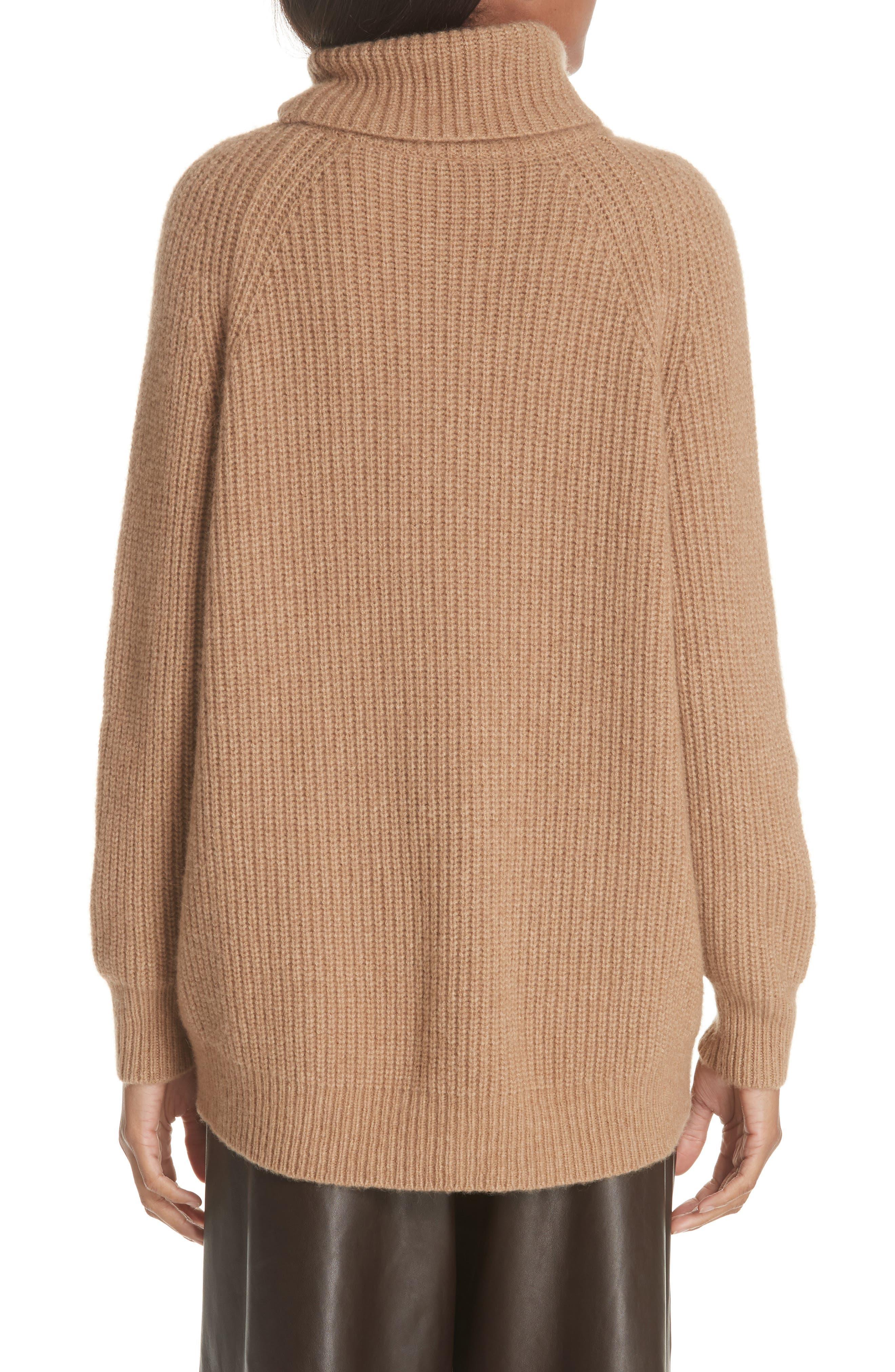 NILI LOTAN,                             Anitra Rib Knit Turtleneck Sweater,                             Alternate thumbnail 2, color,                             261