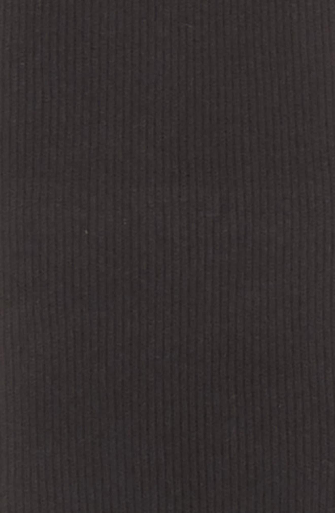 Yorke Cashmere Scarf,                             Alternate thumbnail 4, color,                             BLACK