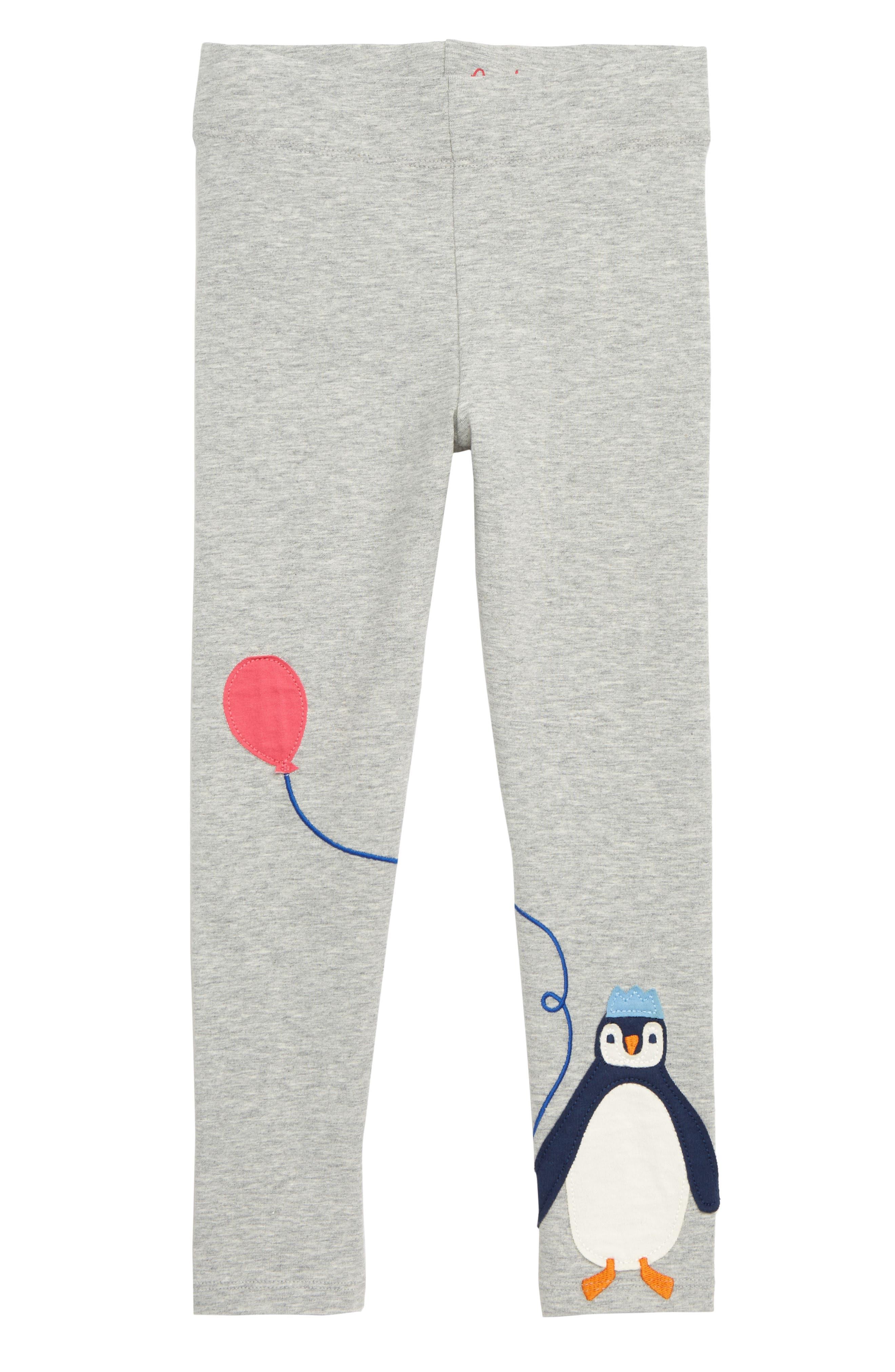 Girls Mini Boden Applique Leggings Size 1112Y  Pink