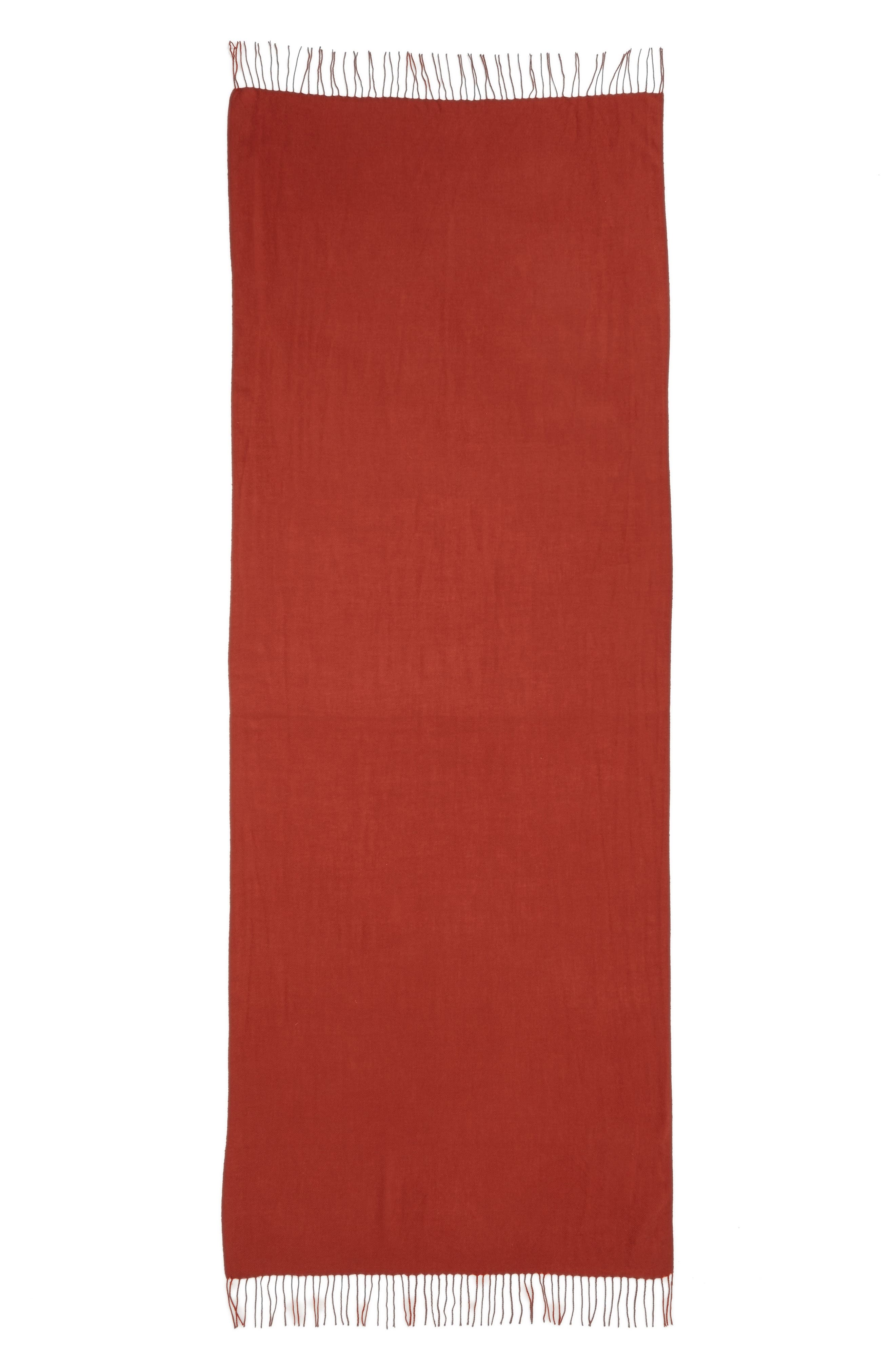 Tissue Weight Wool & Cashmere Scarf,                             Alternate thumbnail 91, color,