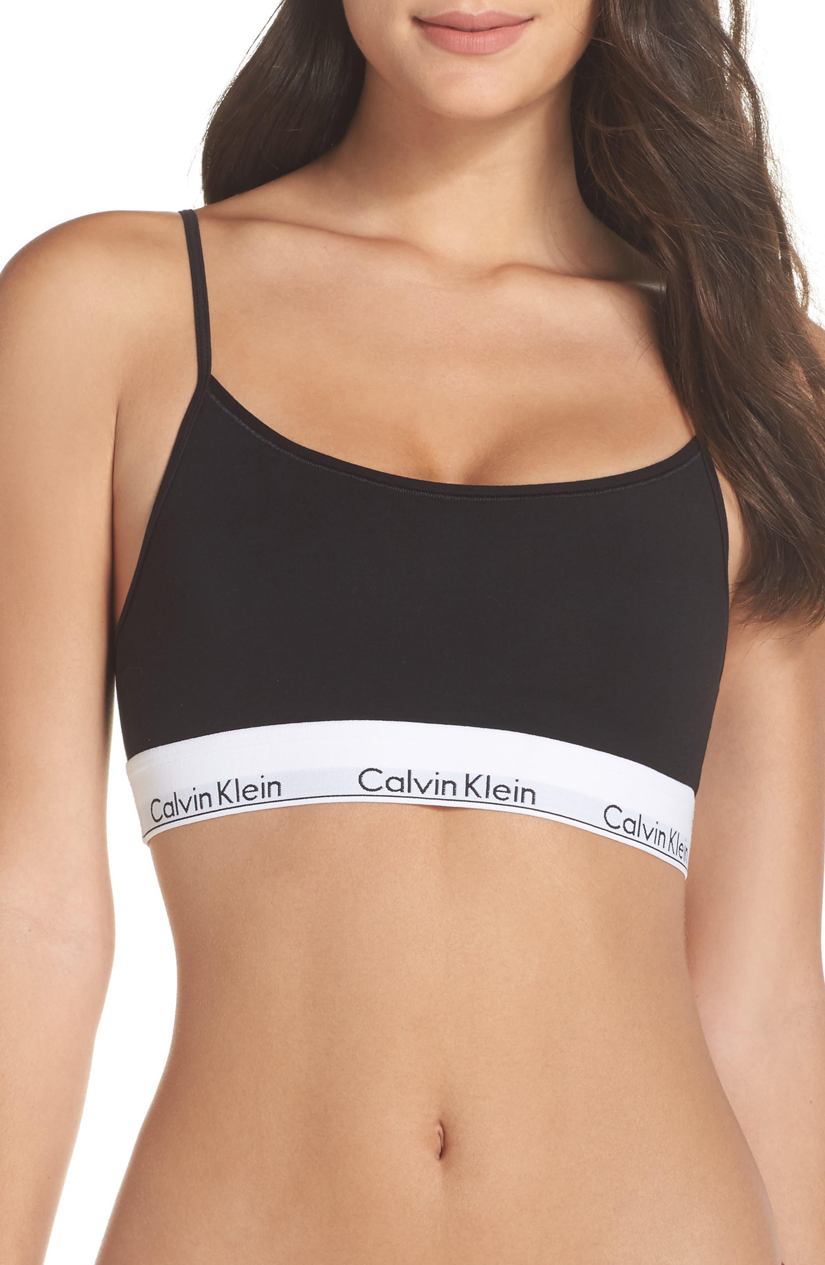 Modern Cotton Bralette,                         Main,                         color,