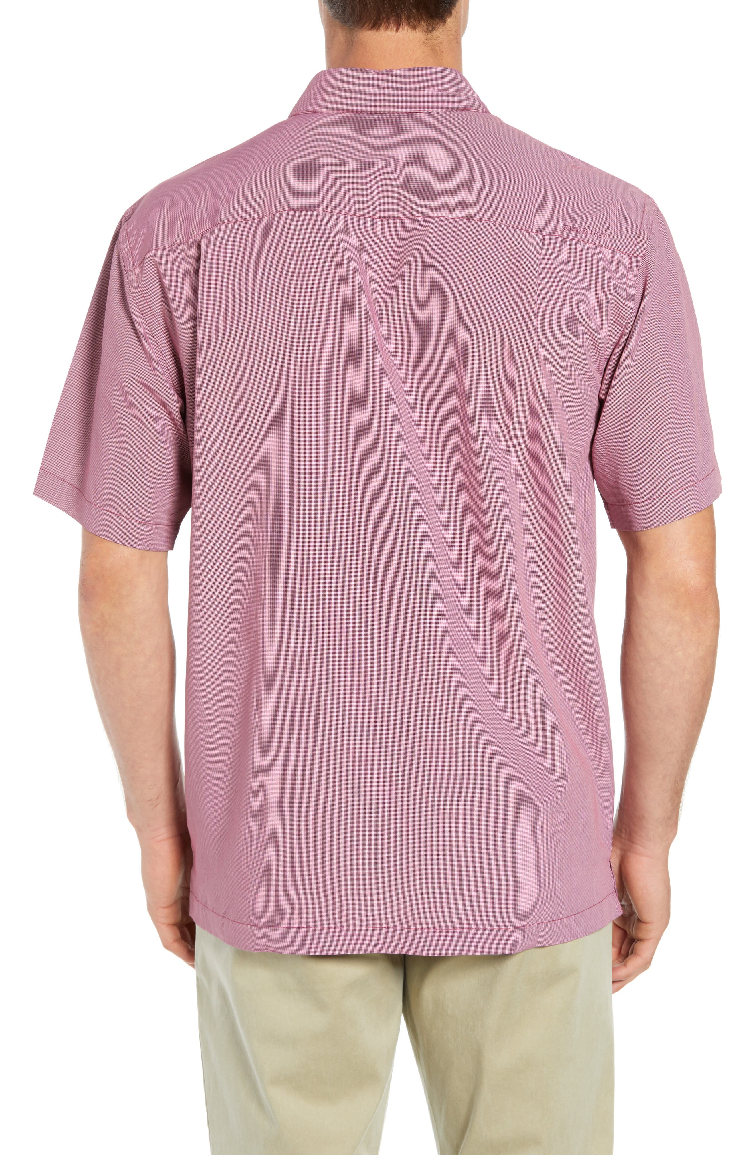 Cane Island Classic Fit Camp Shirt,                             Alternate thumbnail 3, color,                             TAWNY PORT