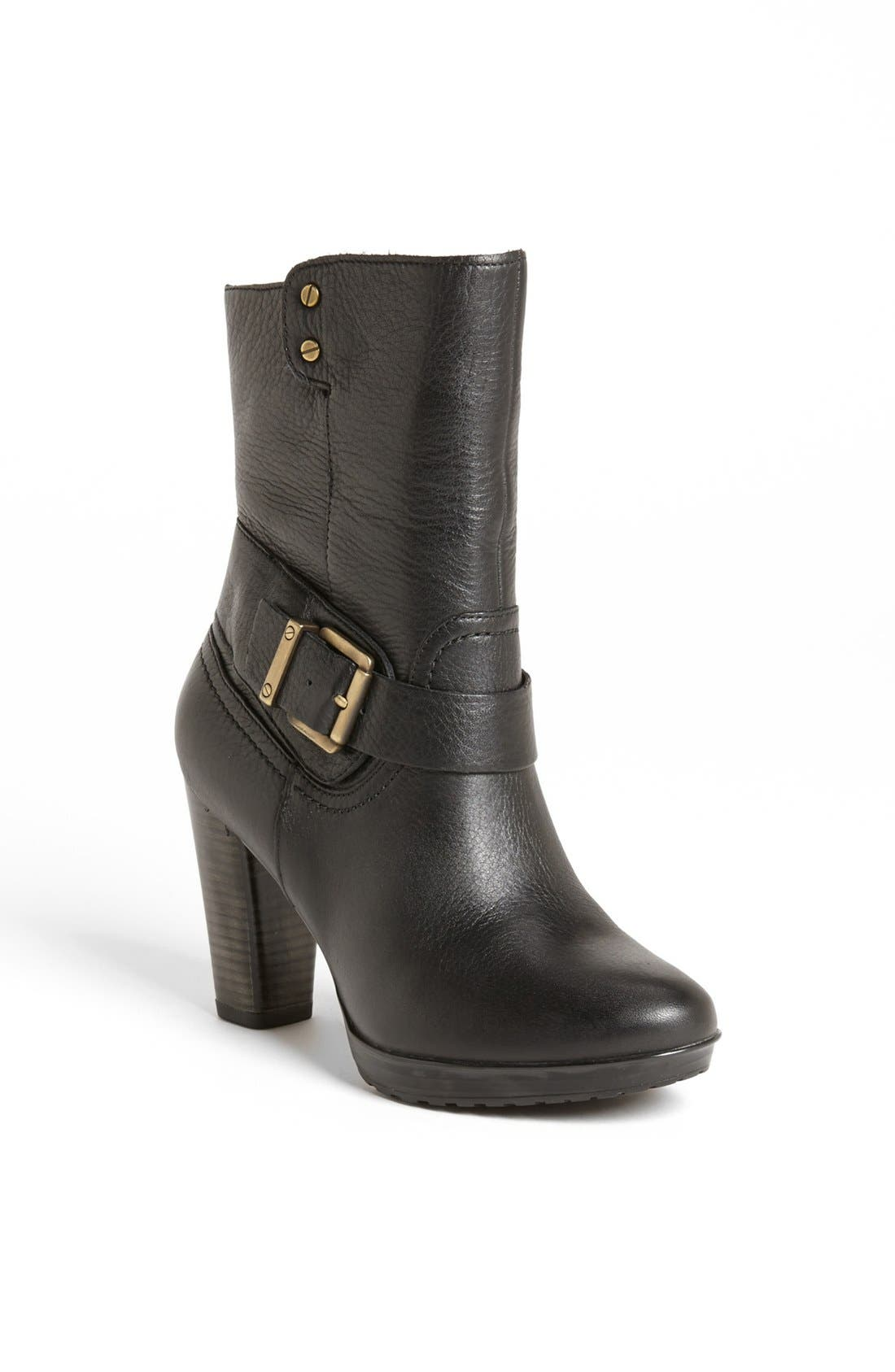Clarks 'Lida' Sayer Bootie,                             Main thumbnail 1, color,                             003