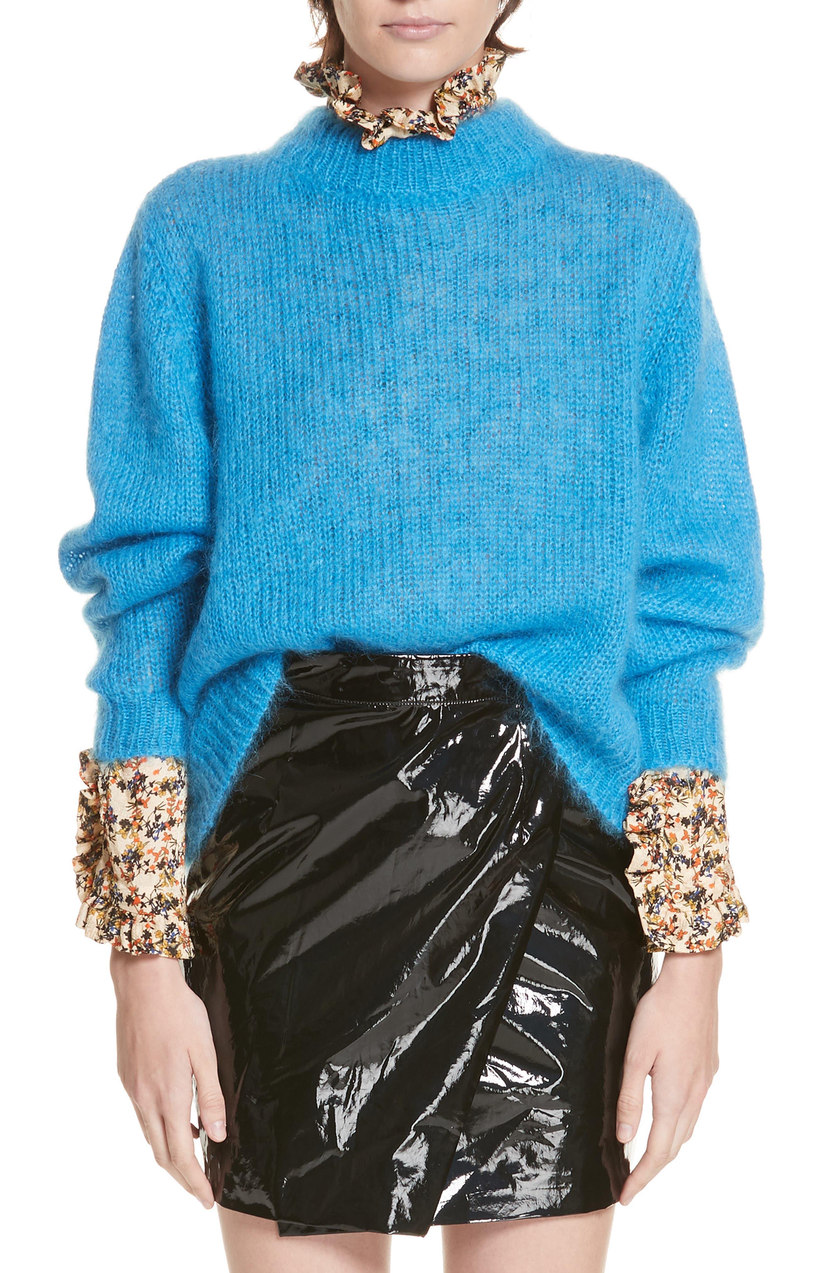 Sam Sweater, Main, color, BLEU