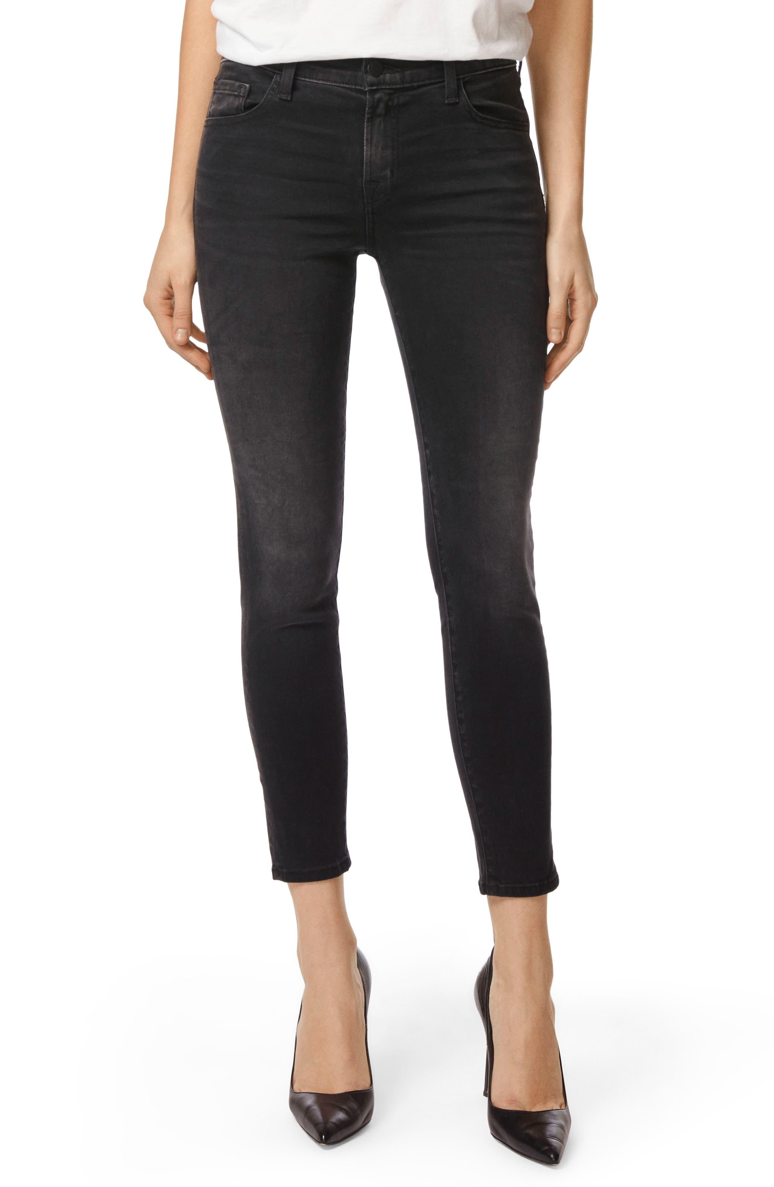 Capri Skinny Jeans,                             Main thumbnail 1, color,                             001