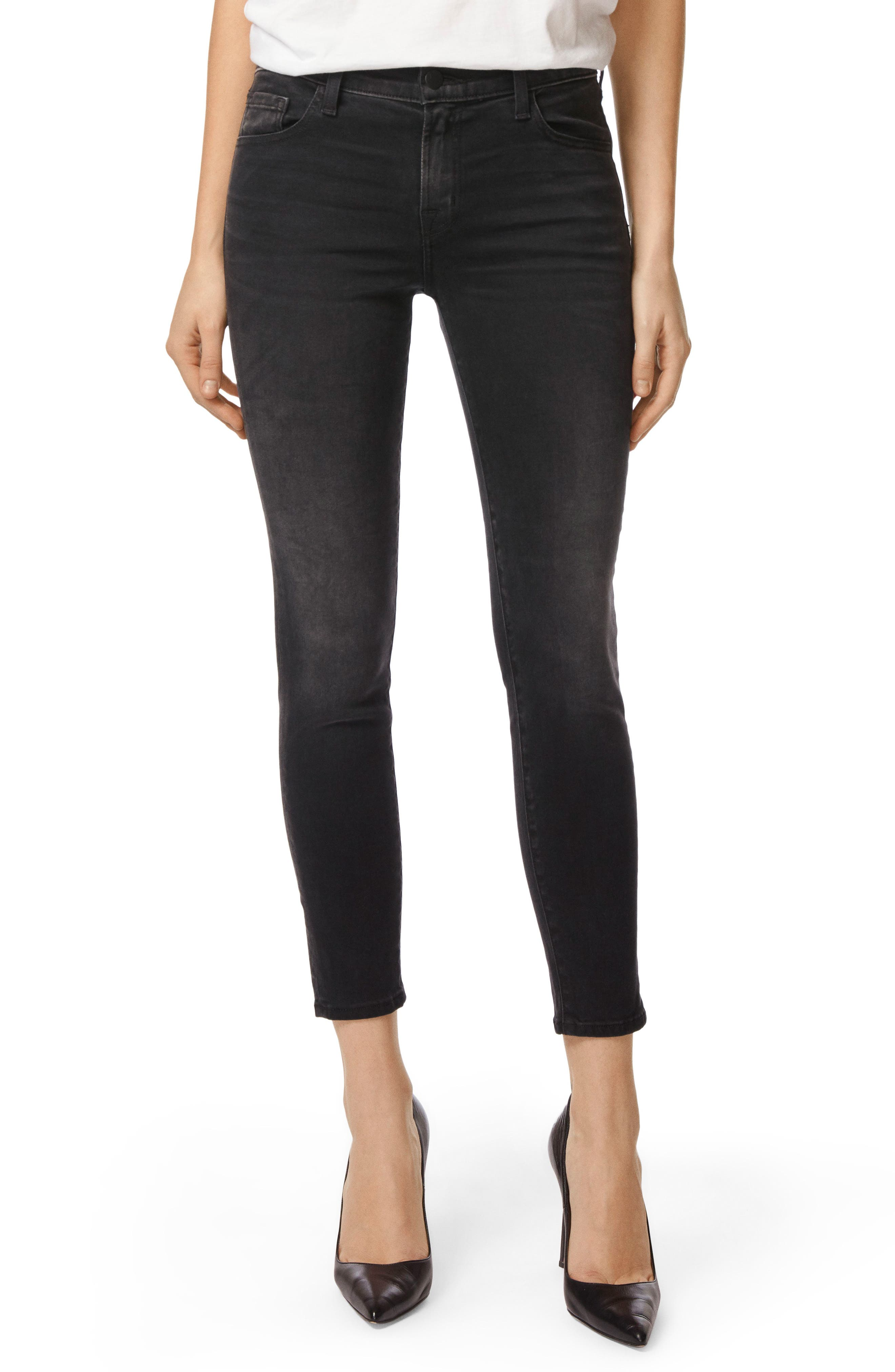 Capri Skinny Jeans,                         Main,                         color, 001
