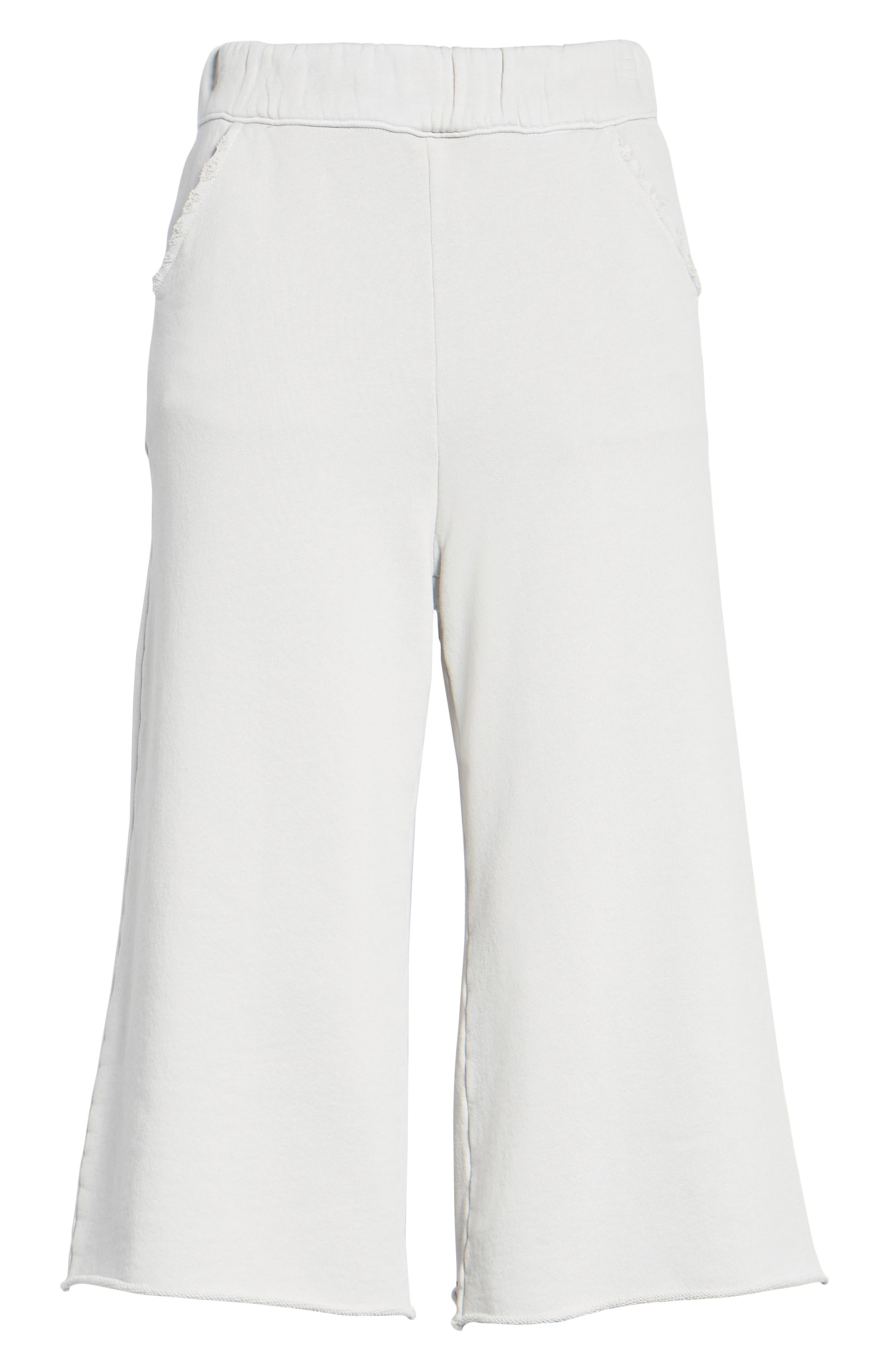 Fleece Knit Gauchos,                             Alternate thumbnail 6, color,                             038