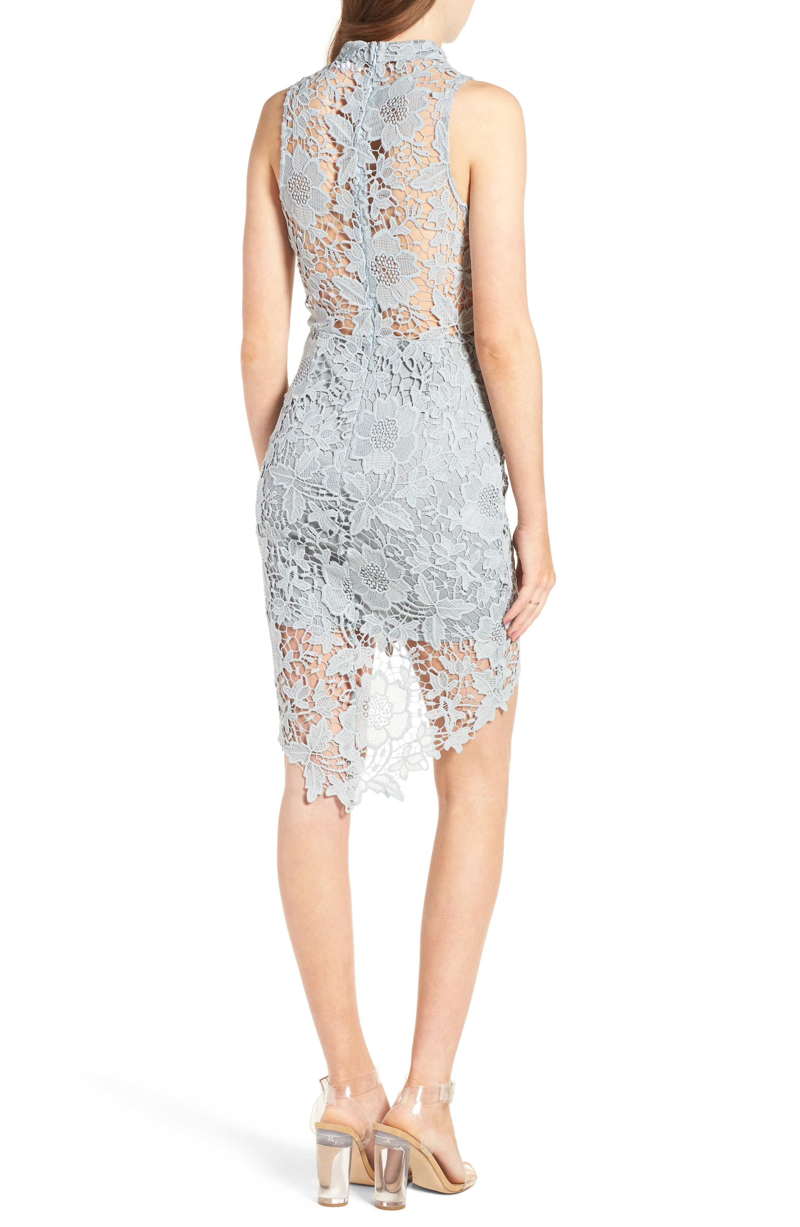 'Samantha' Lace Dress,                             Alternate thumbnail 12, color,