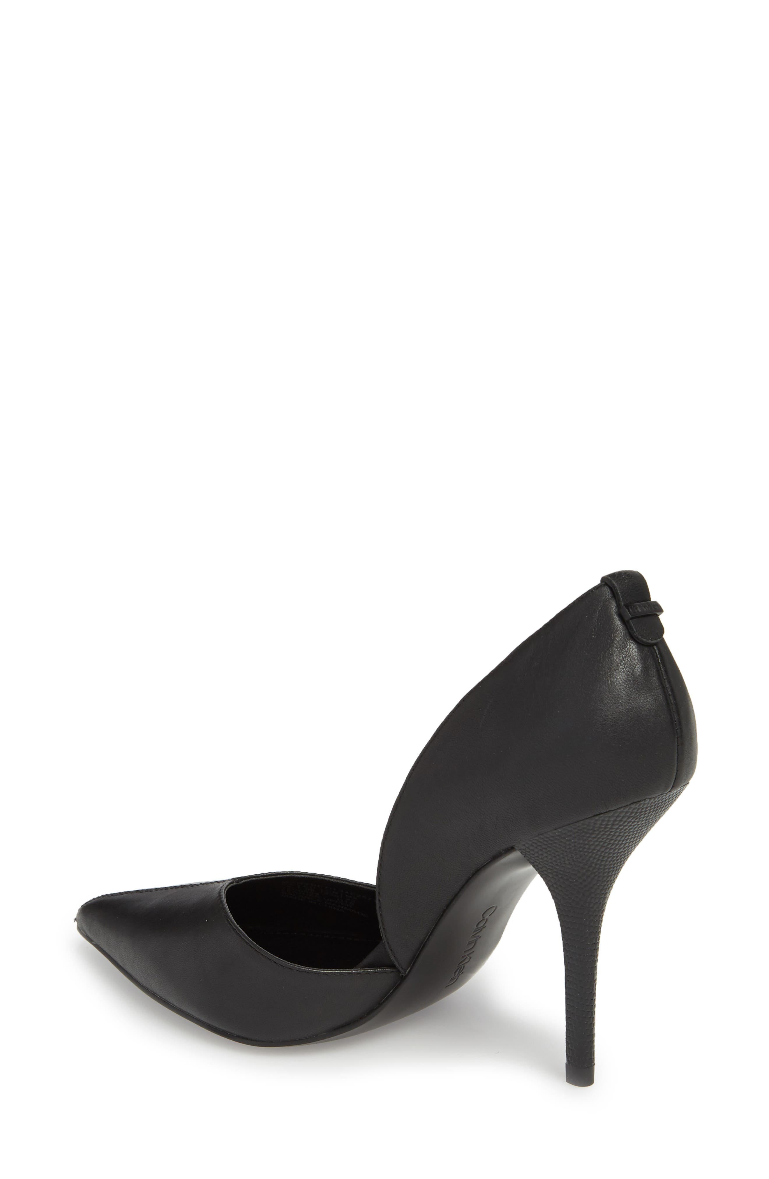 Marybeth d'Orsay Pump,                             Alternate thumbnail 2, color,                             001
