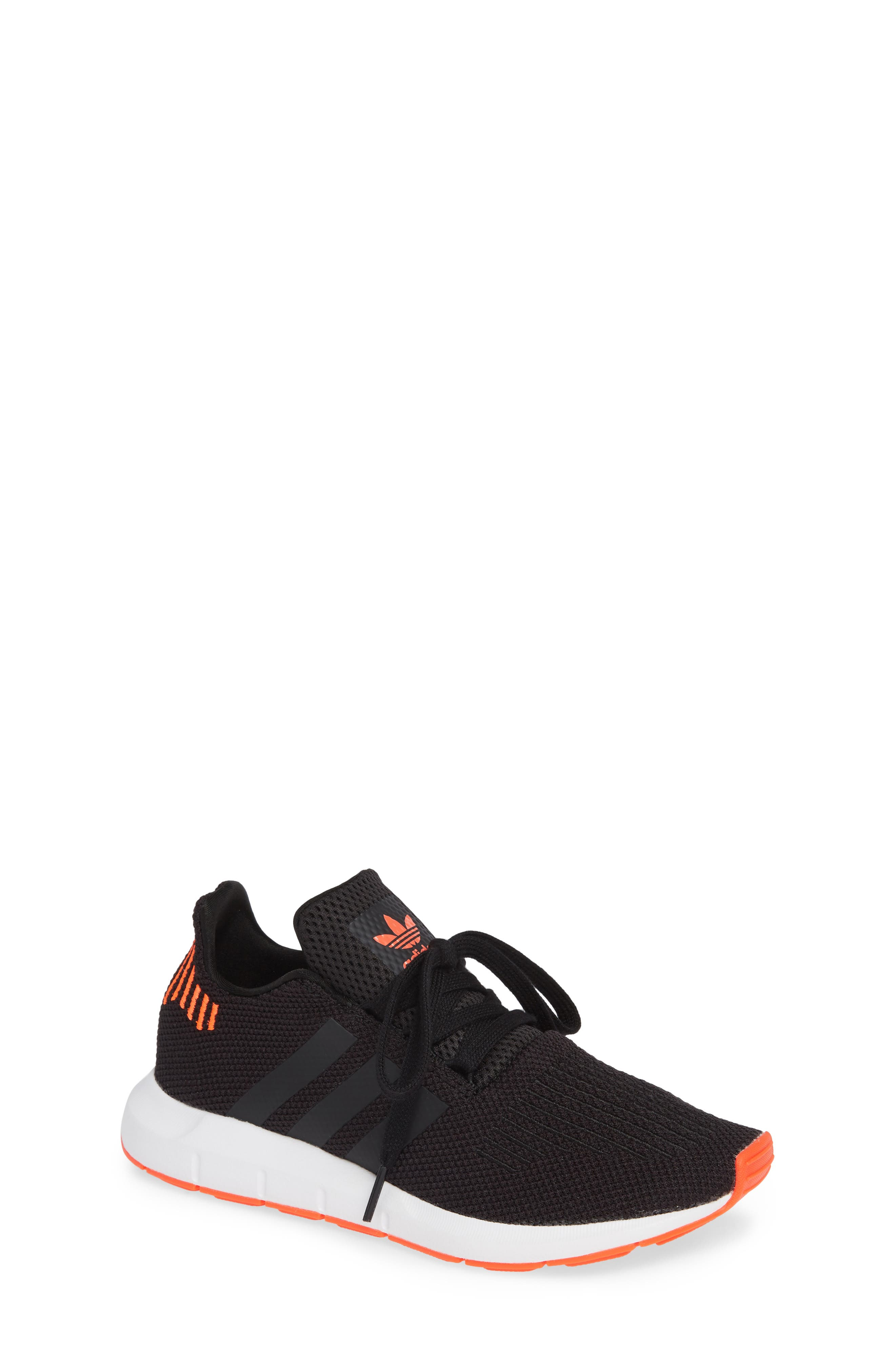 Toddler Adidas Swift Run J Sneaker Size 1 M  Black