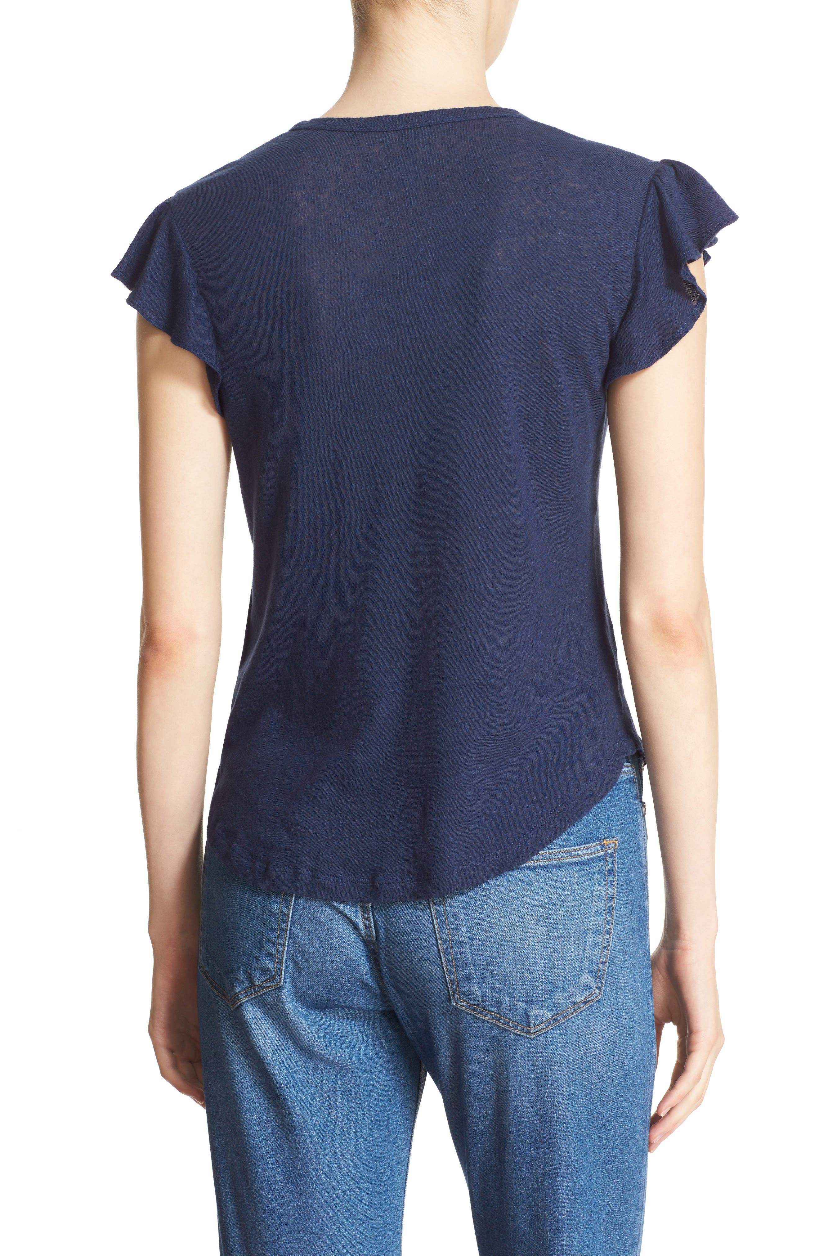 Washed Texture Jersey Tee,                             Alternate thumbnail 16, color,