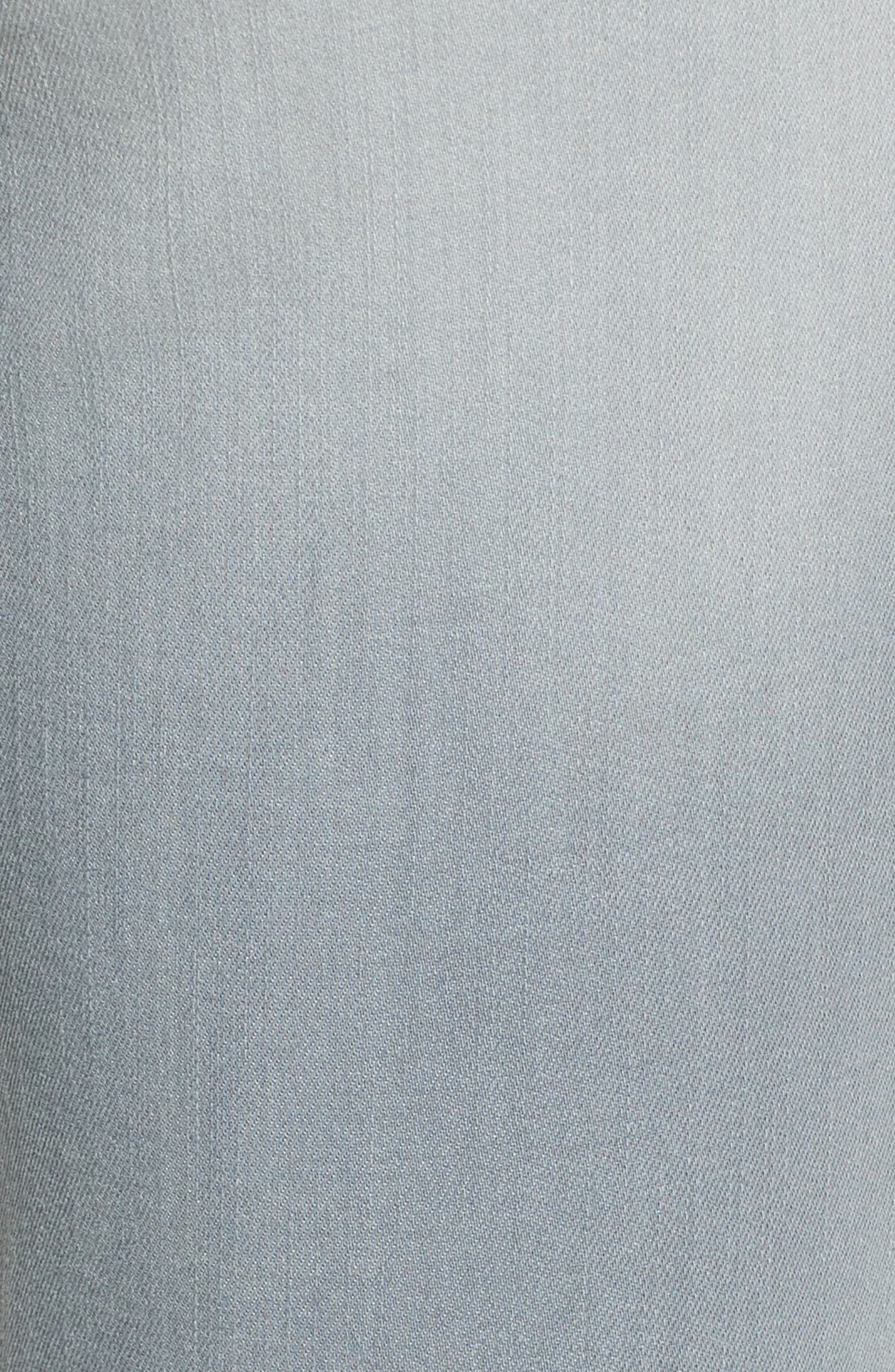 High Waist Skinny Jeans,                             Alternate thumbnail 6, color,                             030