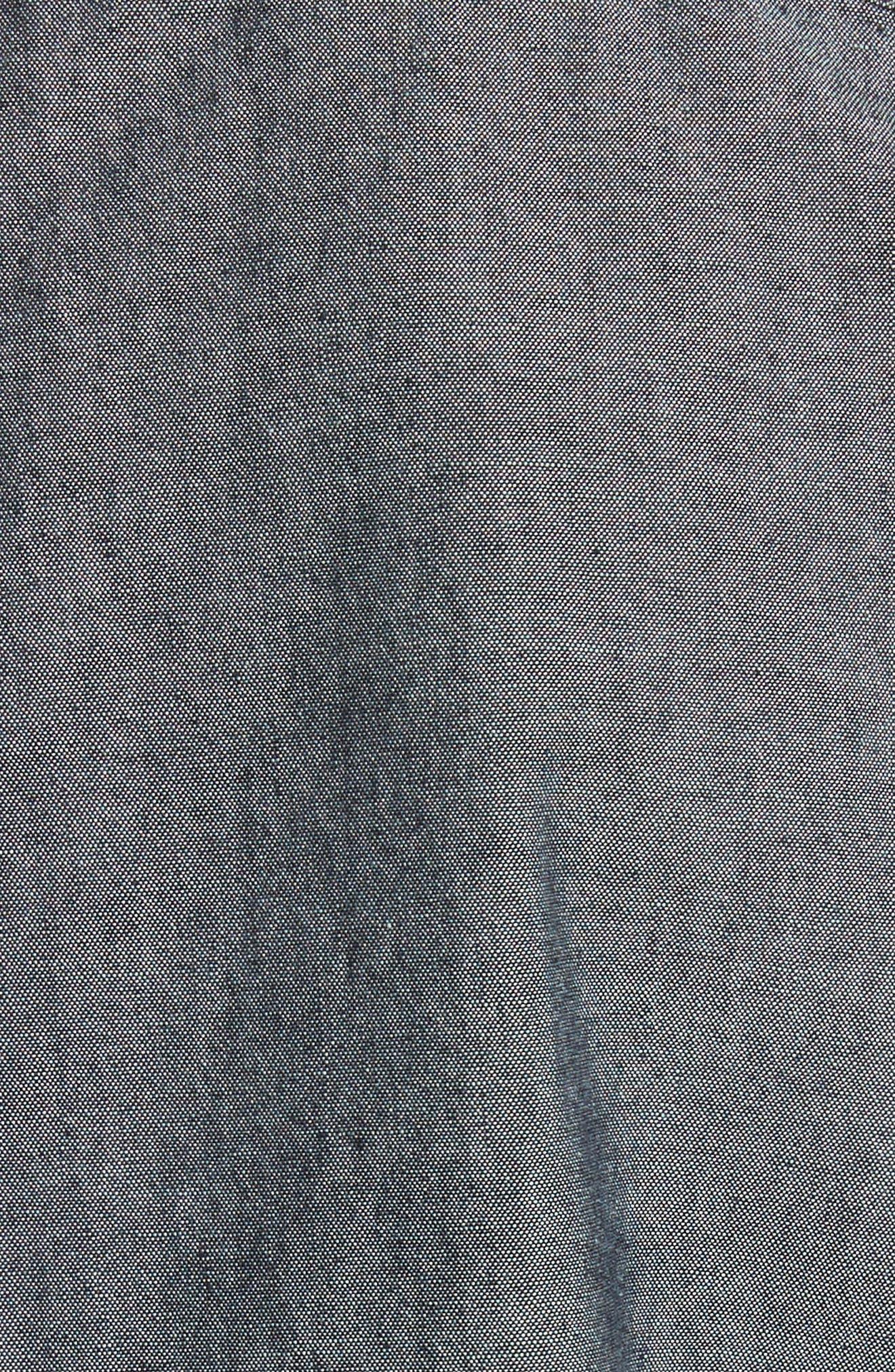 Reno Solid Sport Shirt,                             Alternate thumbnail 5, color,                             INDIGO