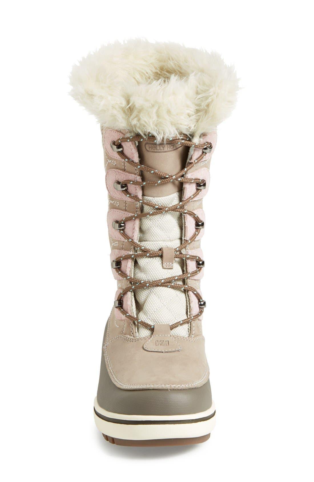 'Garibaldi' Waterproof Snow Boot,                             Alternate thumbnail 3, color,                             097