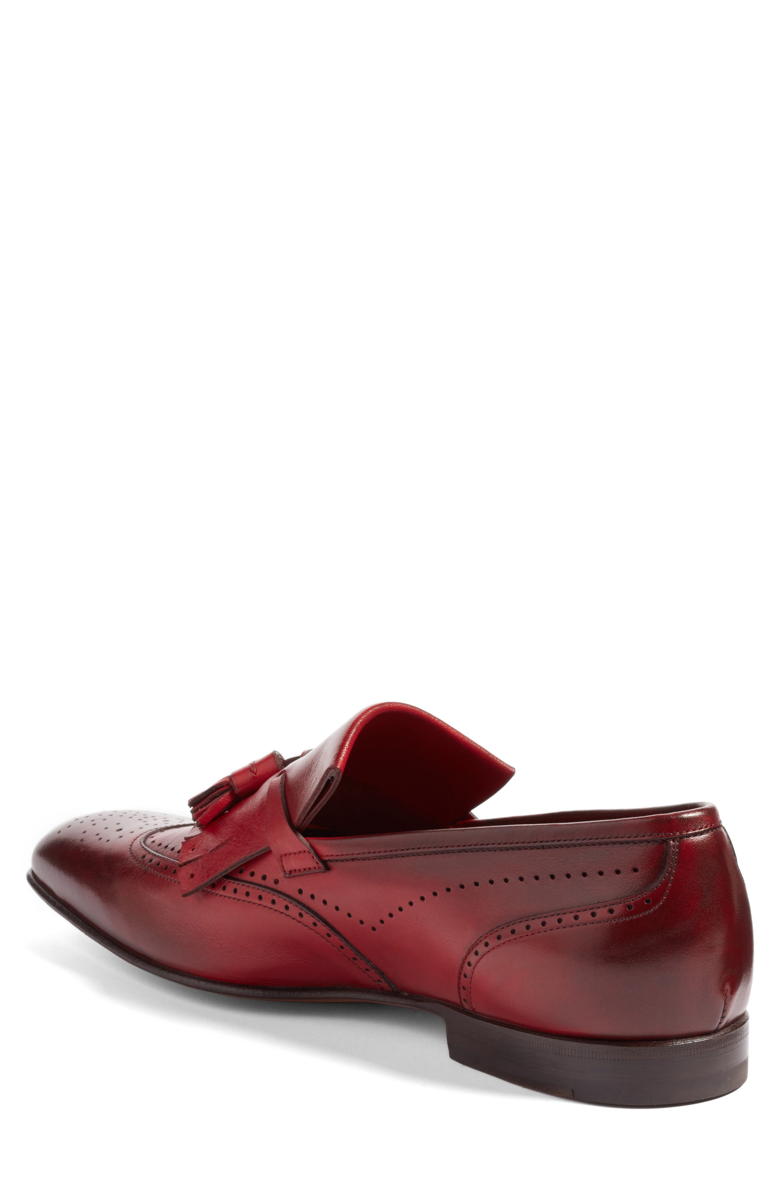 Floyd Tassel Wingtip Loafer,                             Alternate thumbnail 2, color,                             930