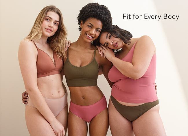 Women's bras and panties for all shapes and sizes.