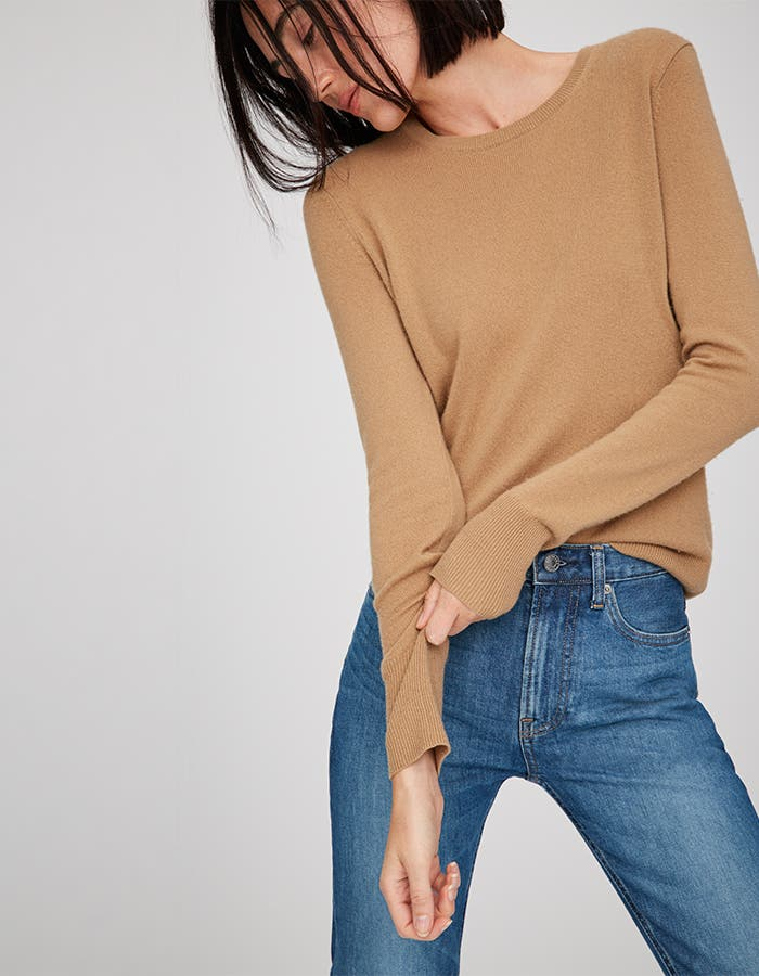 Pop-In@Nordstrom Welcomes Everlane: Women's cashmere crew sweater, $100.