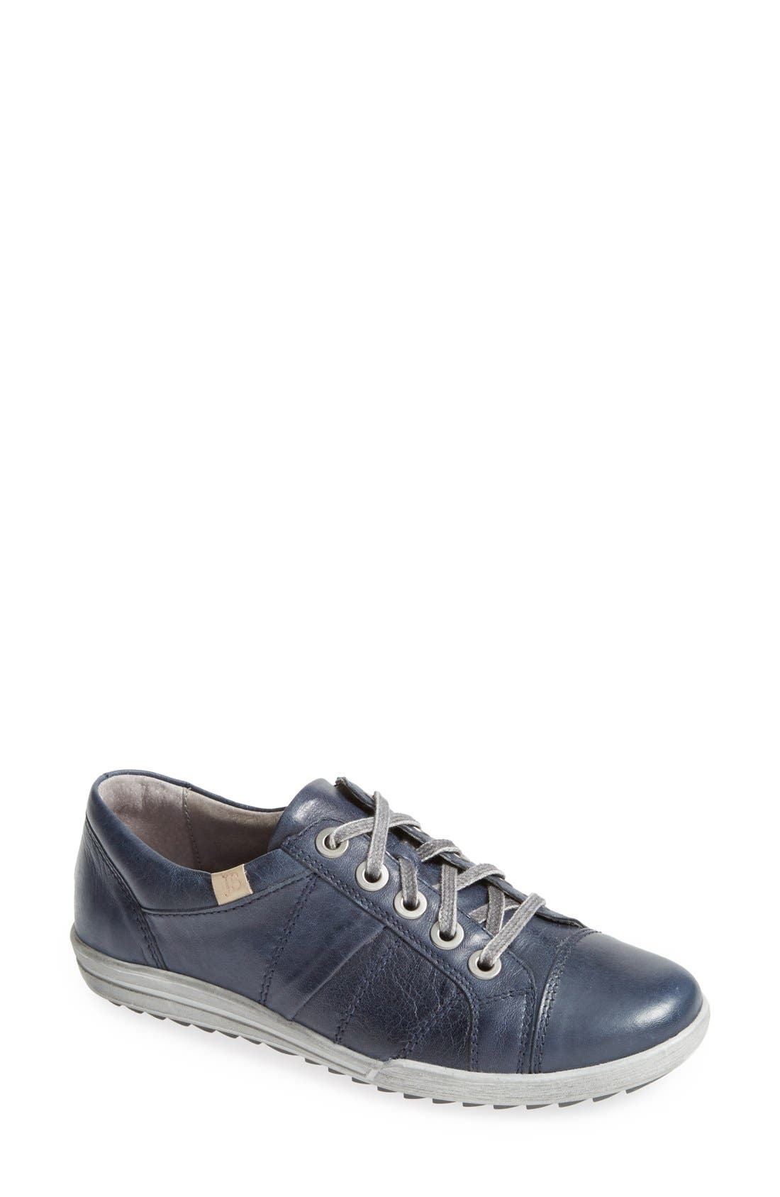 'Dany 05' Leather Sneaker,                             Main thumbnail 7, color,