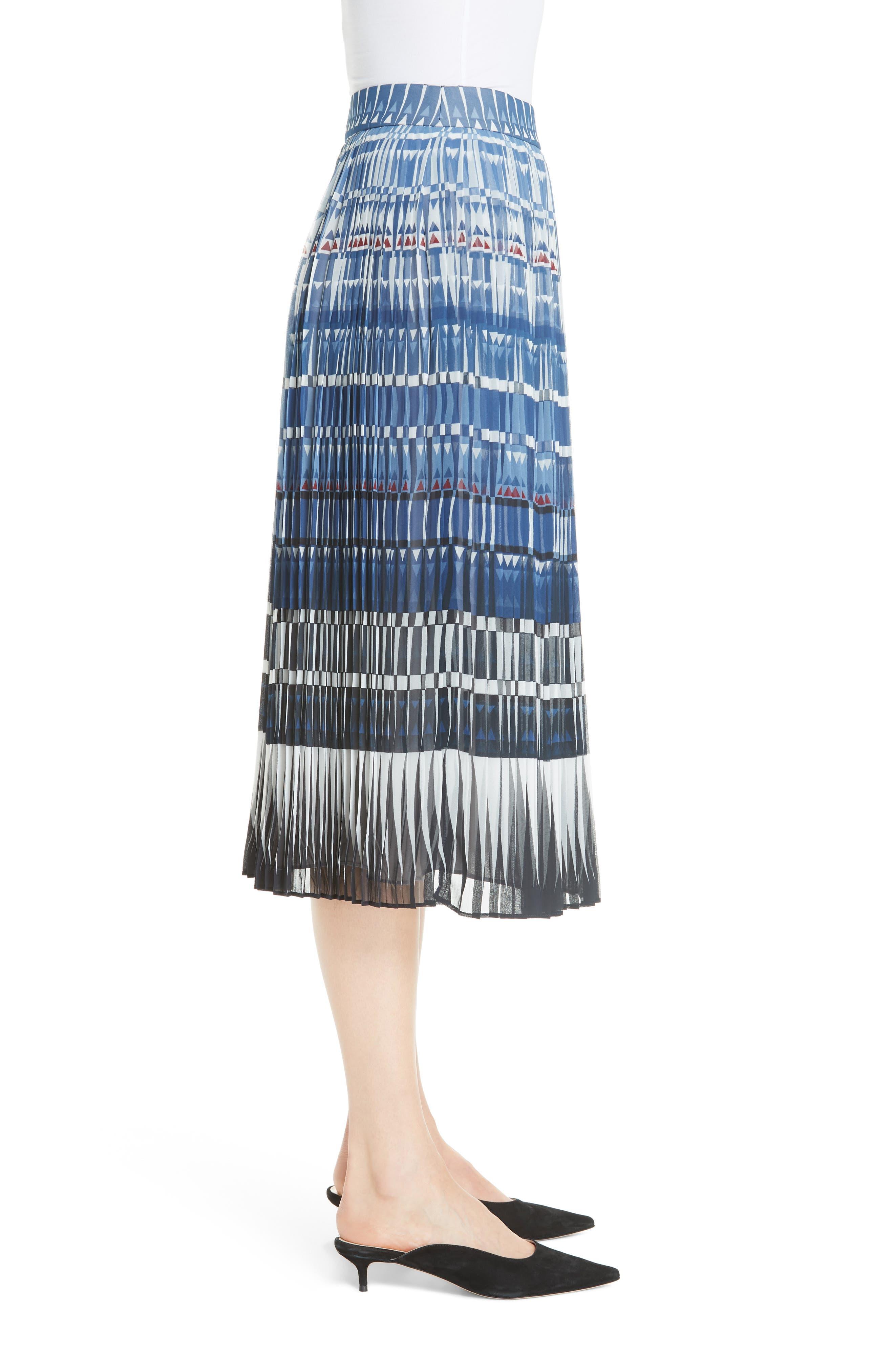 KATE SPADE NEW YORK,                             deco beale skirt,                             Alternate thumbnail 3, color,                             473