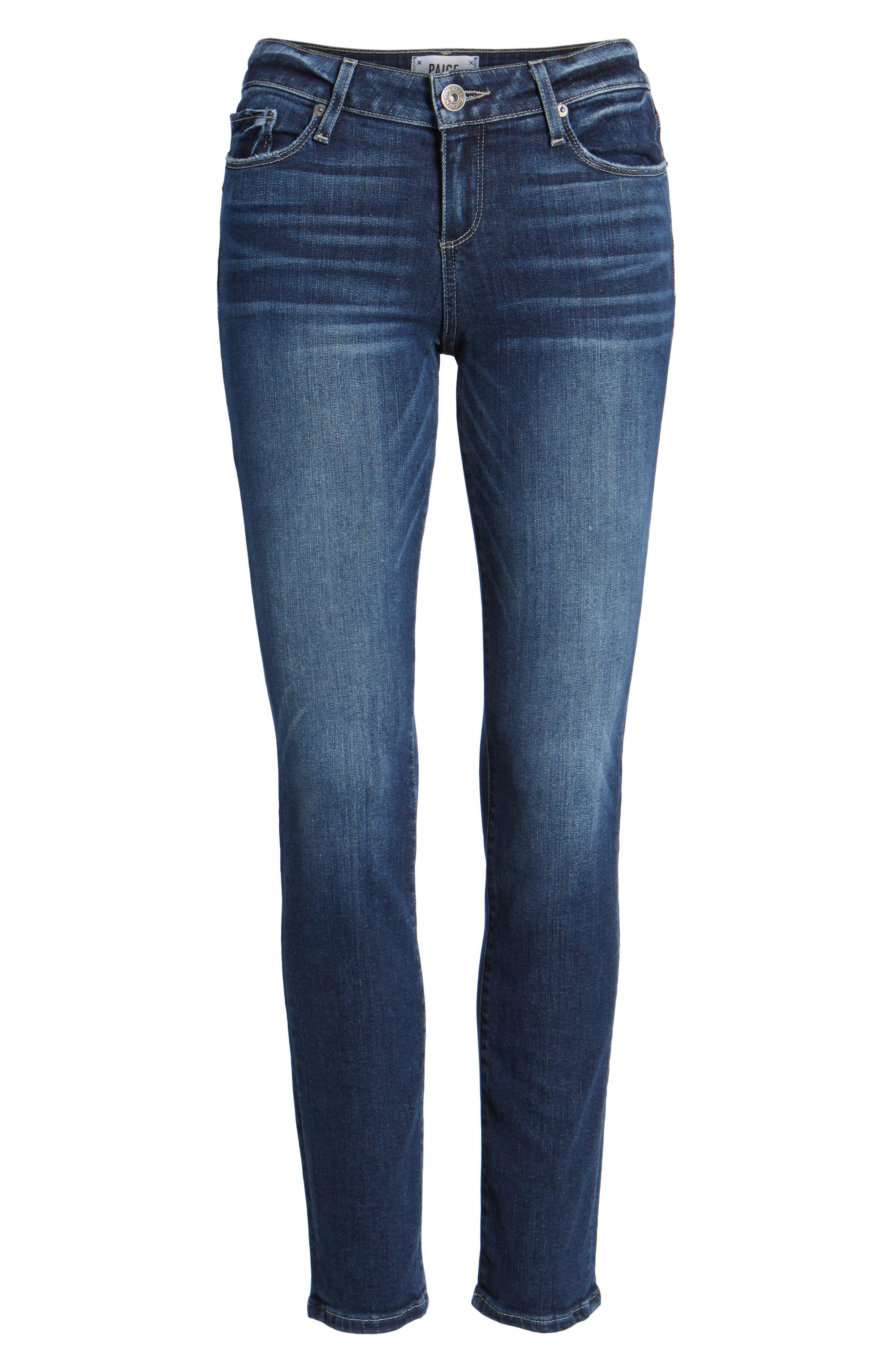 Transcend Vintage - Skyline Skinny Jeans,                             Alternate thumbnail 7, color,                             400