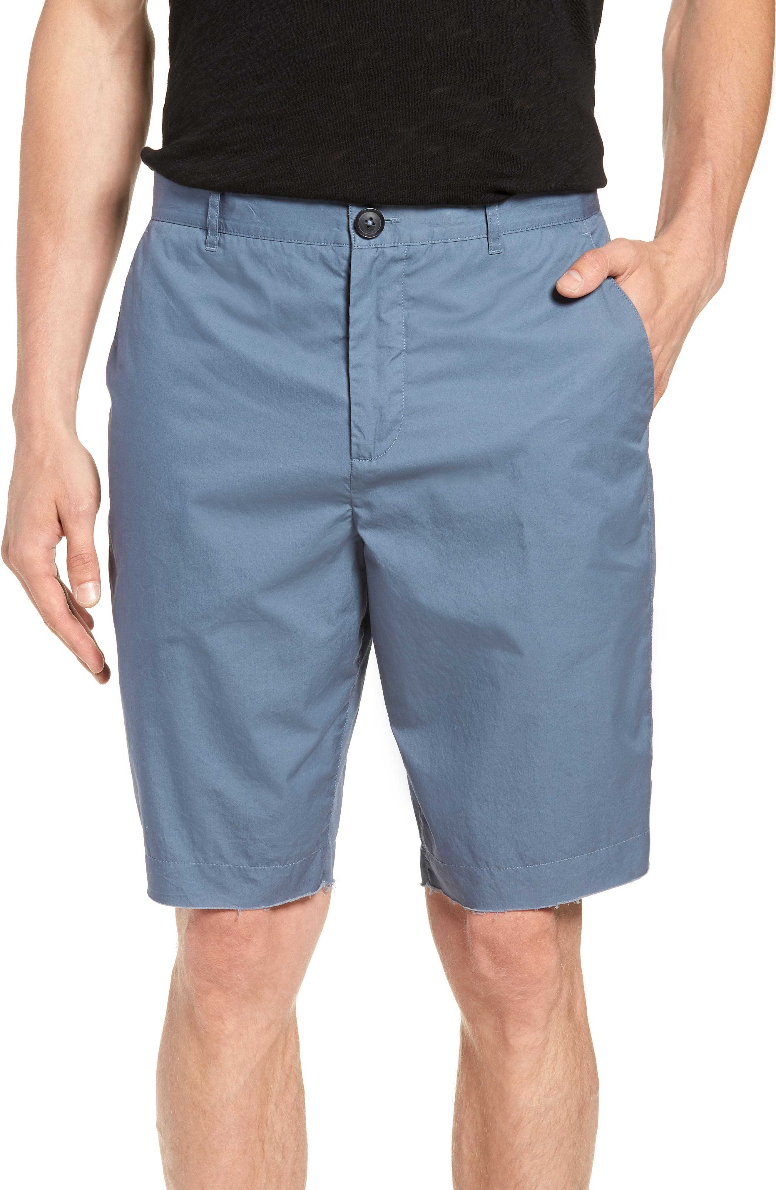 Poplin Cotton Shorts,                             Main thumbnail 1, color,                             425