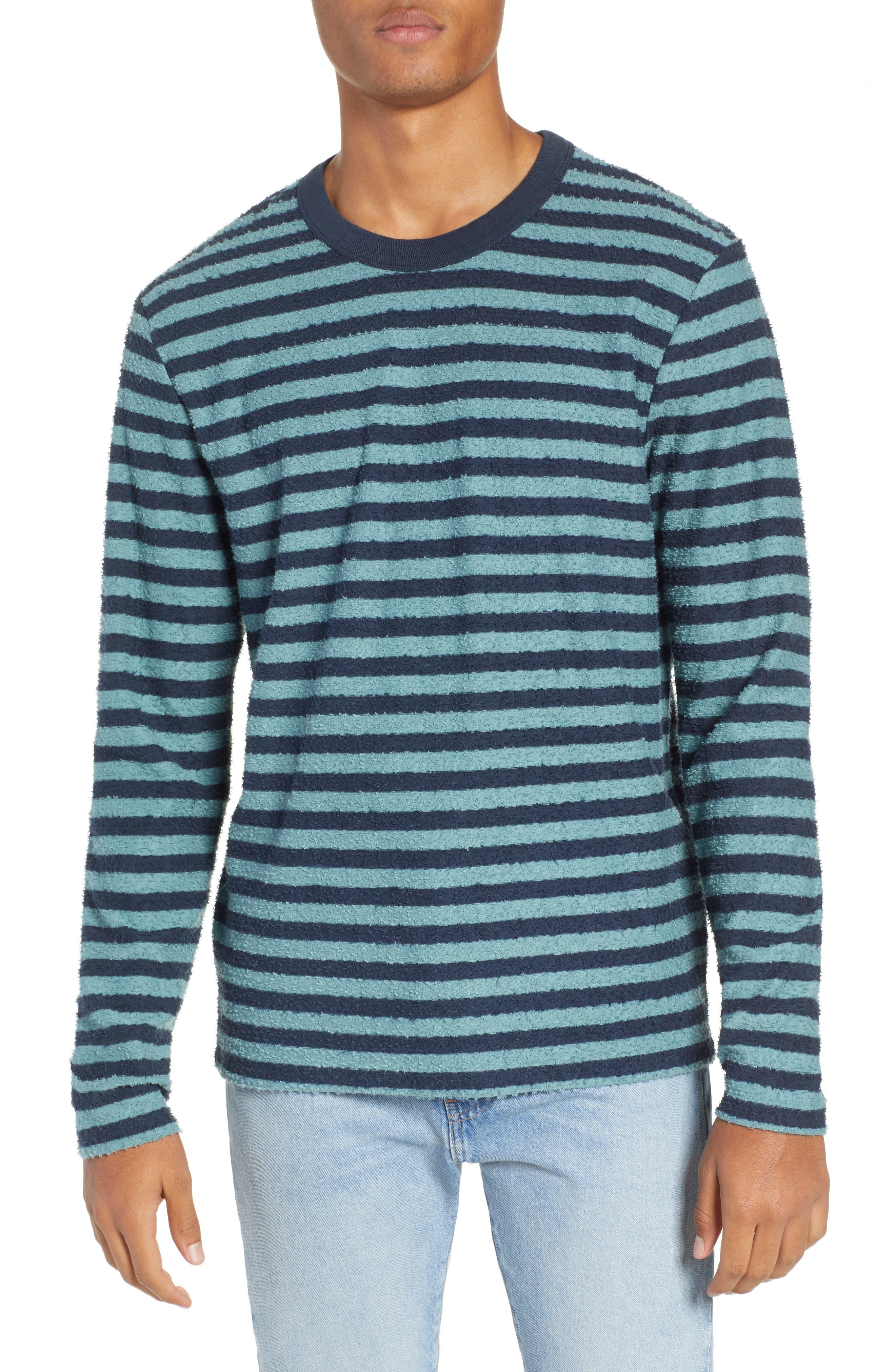 Stripe Slub T-Shirt,                         Main,                         color, ARCTIC TONY